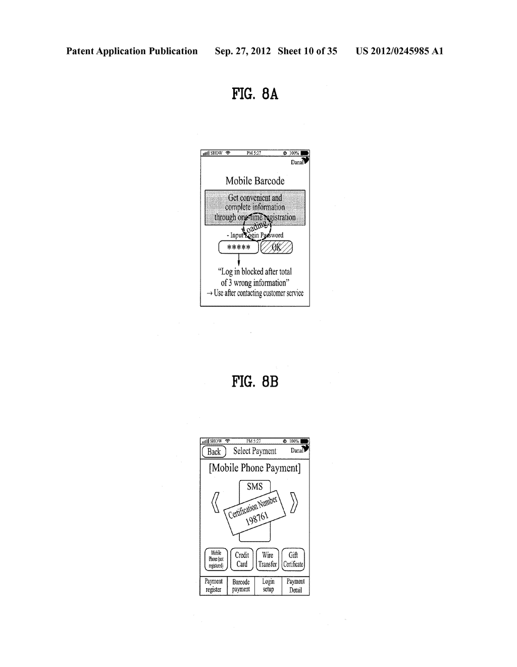 METHOD OF CONTROLLING SYSTEM AND MOBILE DEVICE FOR PROCESSING PAYMENT AND     DATA - diagram, schematic, and image 11