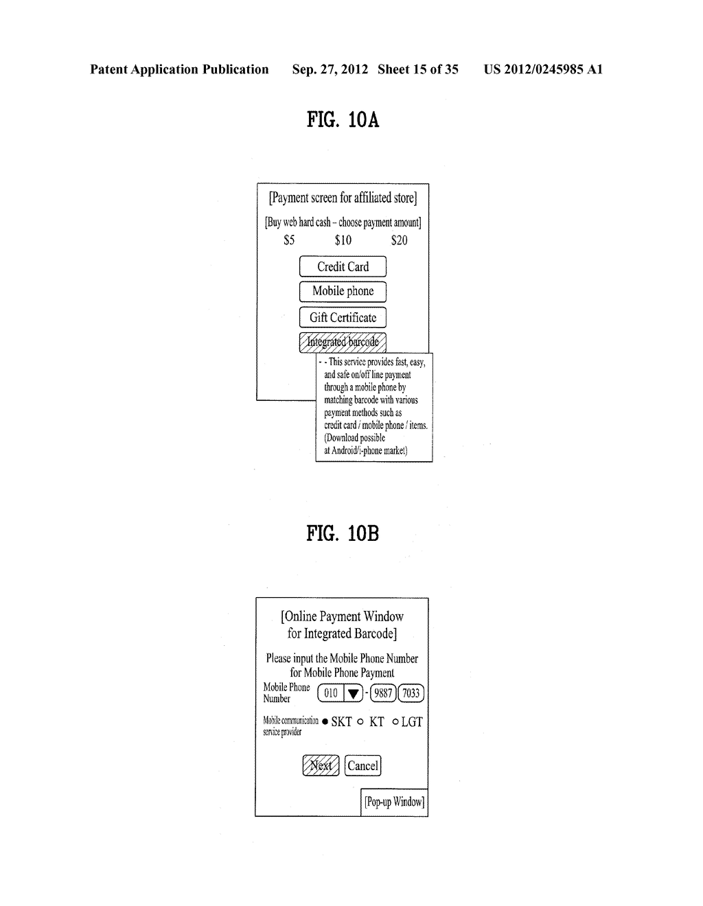 METHOD OF CONTROLLING SYSTEM AND MOBILE DEVICE FOR PROCESSING PAYMENT AND     DATA - diagram, schematic, and image 16