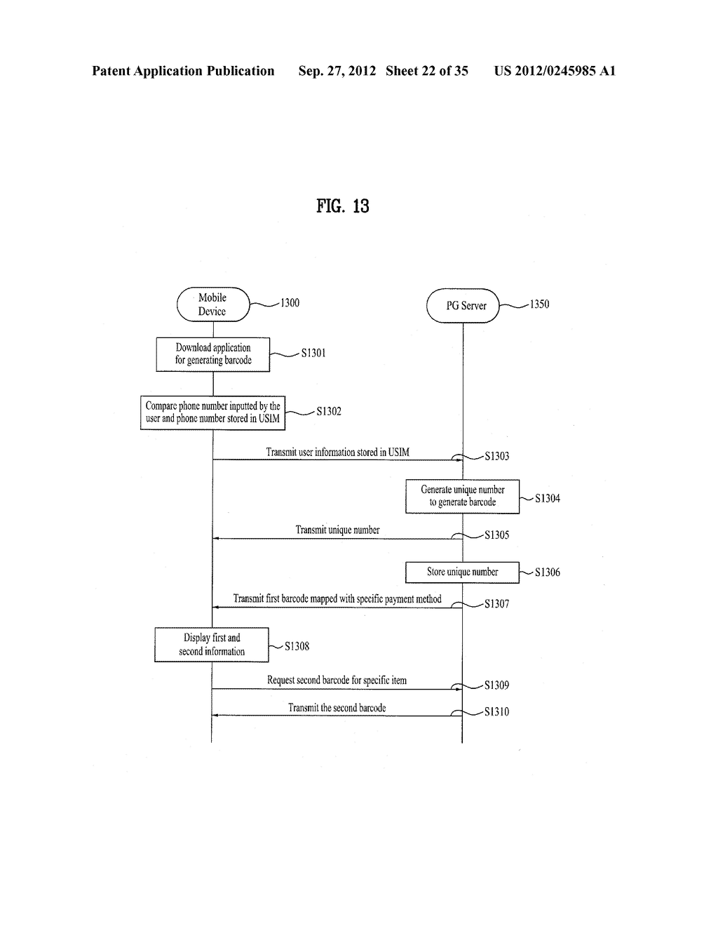 METHOD OF CONTROLLING SYSTEM AND MOBILE DEVICE FOR PROCESSING PAYMENT AND     DATA - diagram, schematic, and image 23