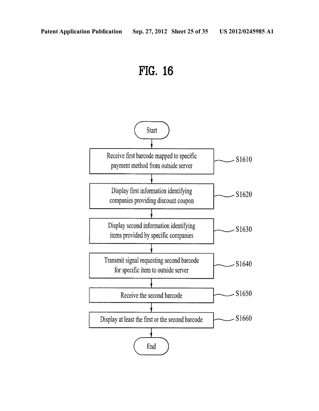 METHOD OF CONTROLLING SYSTEM AND MOBILE DEVICE FOR PROCESSING PAYMENT AND     DATA - diagram, schematic, and image 26