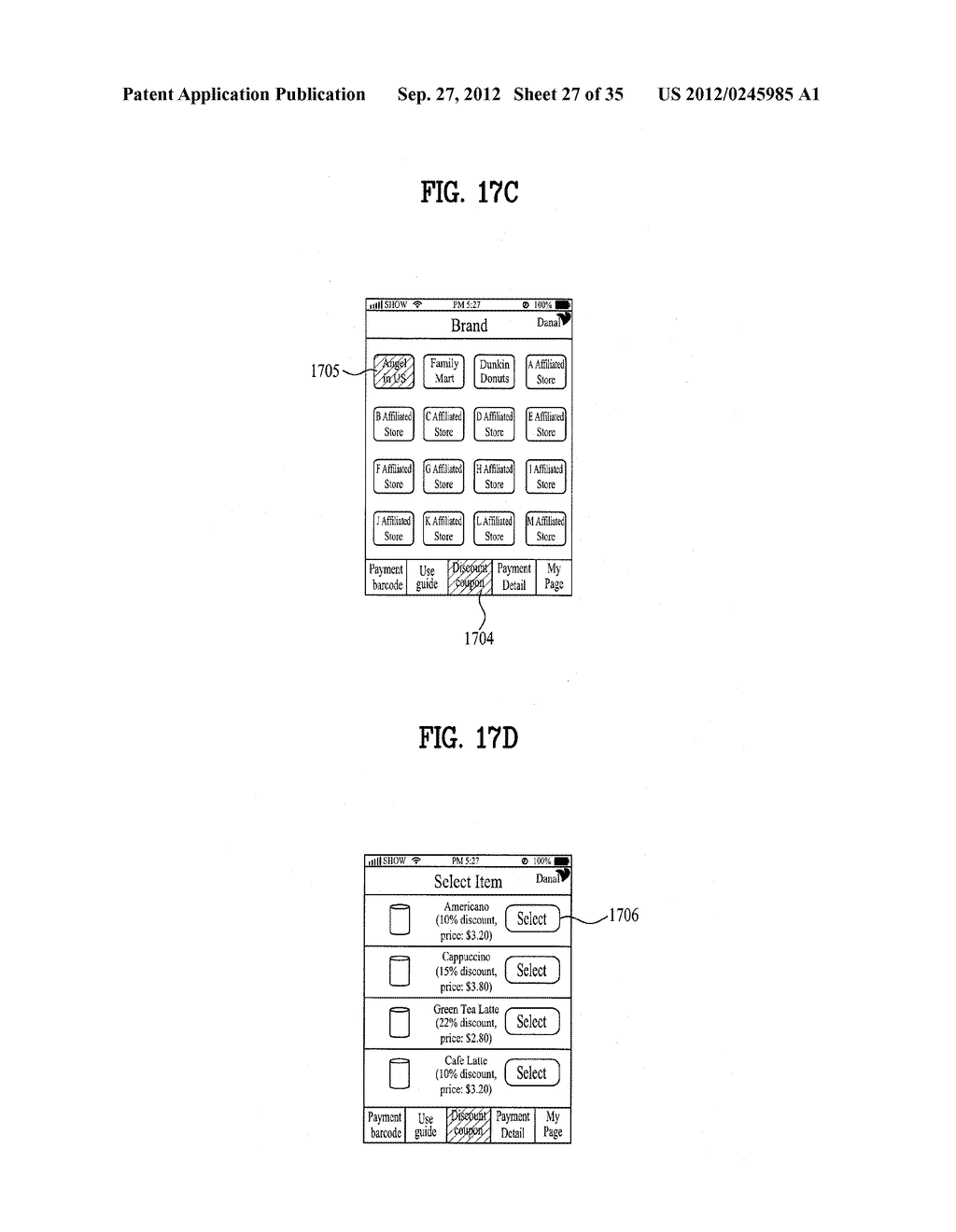 METHOD OF CONTROLLING SYSTEM AND MOBILE DEVICE FOR PROCESSING PAYMENT AND     DATA - diagram, schematic, and image 28