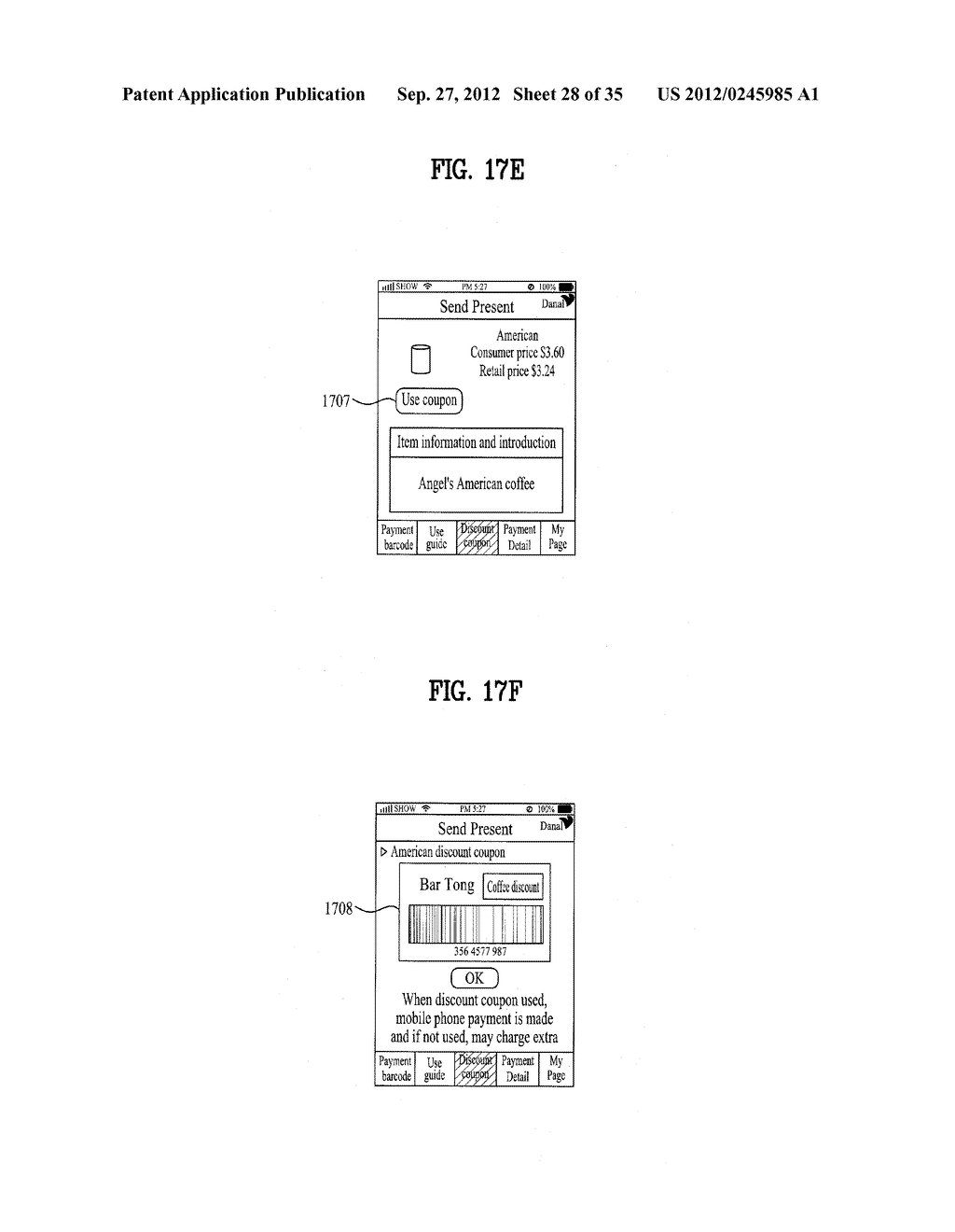 METHOD OF CONTROLLING SYSTEM AND MOBILE DEVICE FOR PROCESSING PAYMENT AND     DATA - diagram, schematic, and image 29