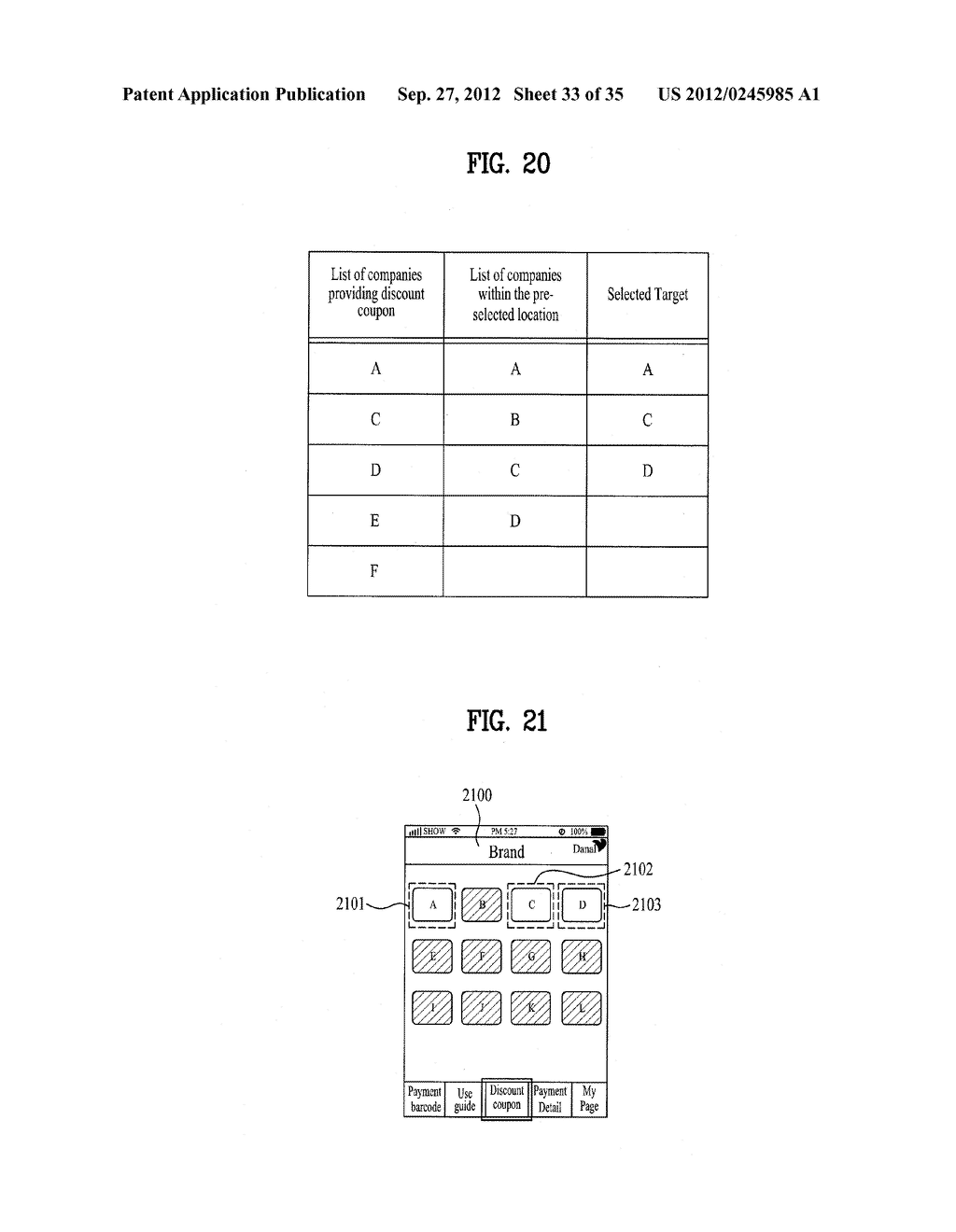METHOD OF CONTROLLING SYSTEM AND MOBILE DEVICE FOR PROCESSING PAYMENT AND     DATA - diagram, schematic, and image 34