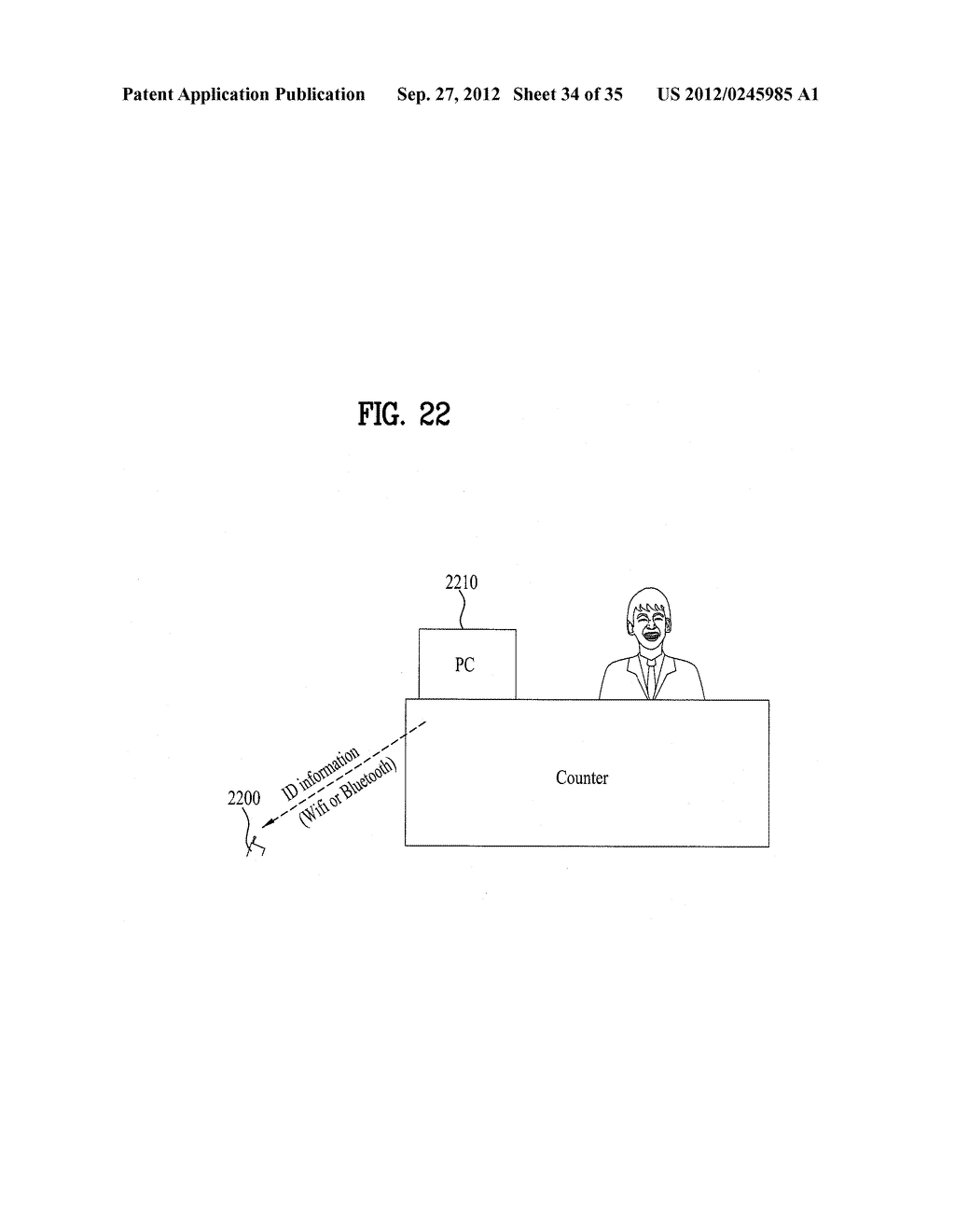 METHOD OF CONTROLLING SYSTEM AND MOBILE DEVICE FOR PROCESSING PAYMENT AND     DATA - diagram, schematic, and image 35