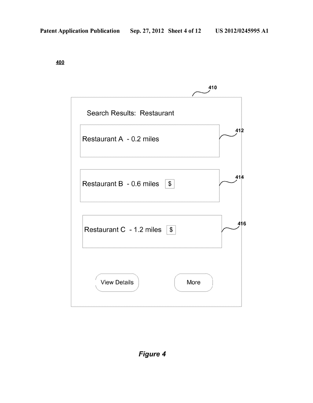 METHOD AND SYSTEM FOR ENABLING LOCATION BASED ADVERTISEMENTS WITH PAY FOR     PERFORMANCE - diagram, schematic, and image 05