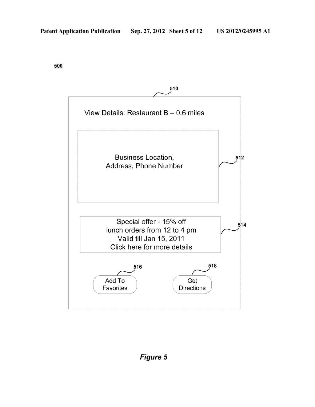 METHOD AND SYSTEM FOR ENABLING LOCATION BASED ADVERTISEMENTS WITH PAY FOR     PERFORMANCE - diagram, schematic, and image 06