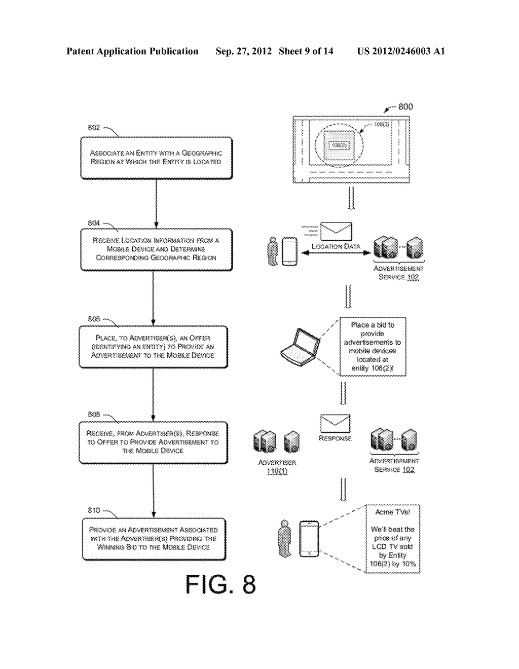 Advertisement Service - diagram, schematic, and image 10