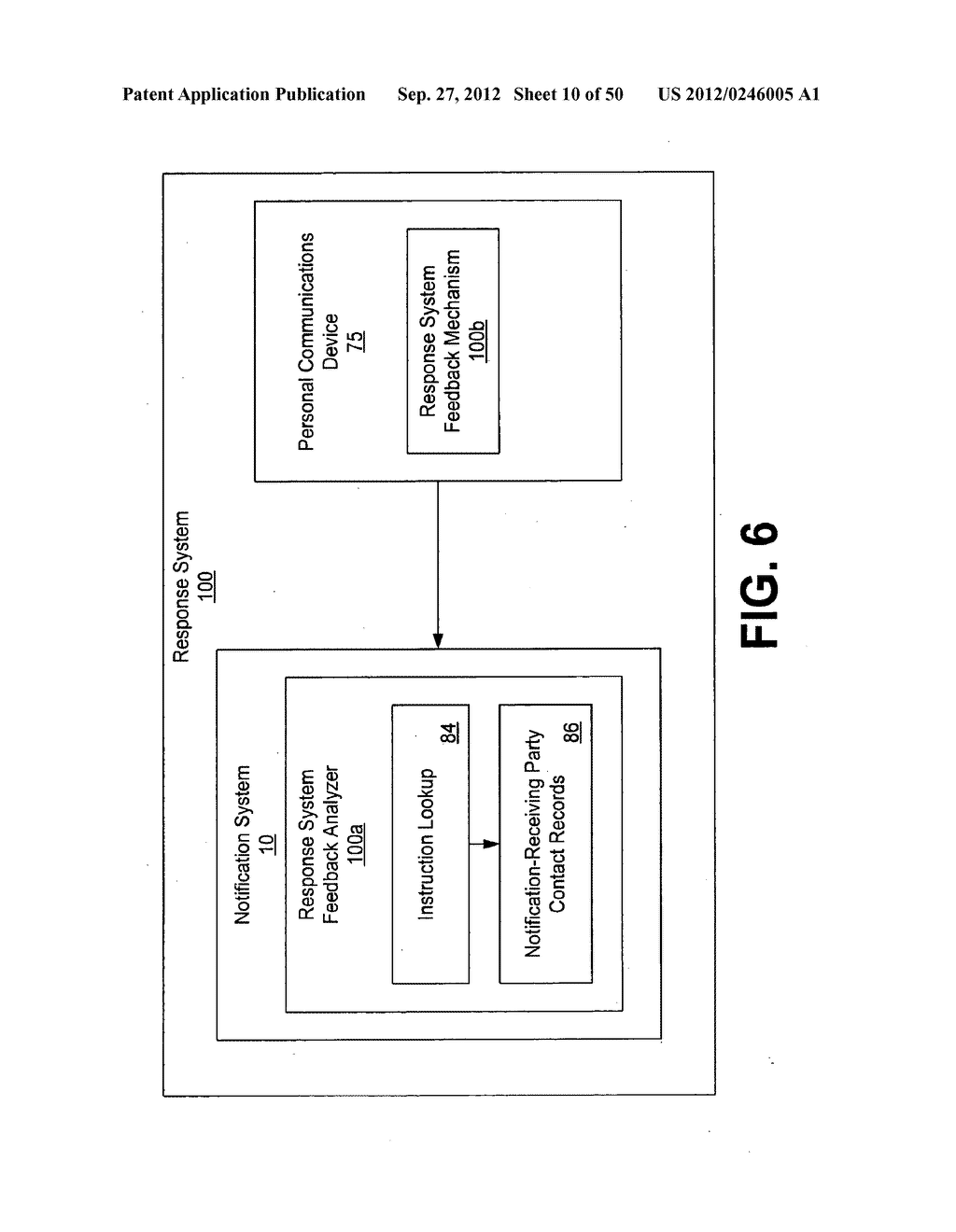 Advertisement Systems and Methods for Notification Systems - diagram, schematic, and image 11