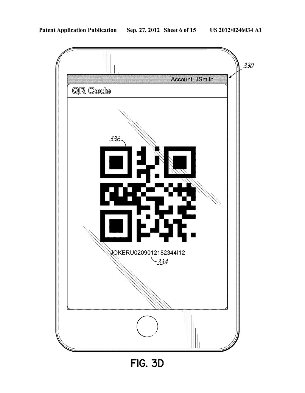 ORDERING LOTTERY TICKETS USING MACHINE-READABLE CODE IMAGES DISPLAYED ON     MOBILE DEVICES - diagram, schematic, and image 07