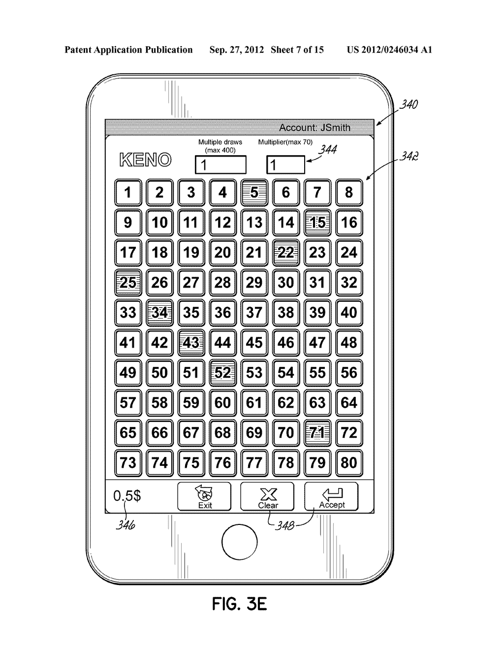ORDERING LOTTERY TICKETS USING MACHINE-READABLE CODE IMAGES DISPLAYED ON     MOBILE DEVICES - diagram, schematic, and image 08