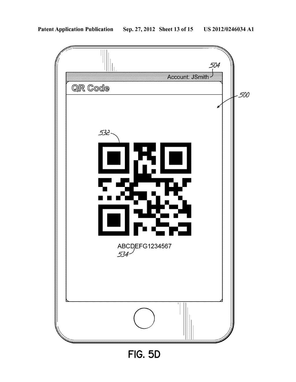 ORDERING LOTTERY TICKETS USING MACHINE-READABLE CODE IMAGES DISPLAYED ON     MOBILE DEVICES - diagram, schematic, and image 14