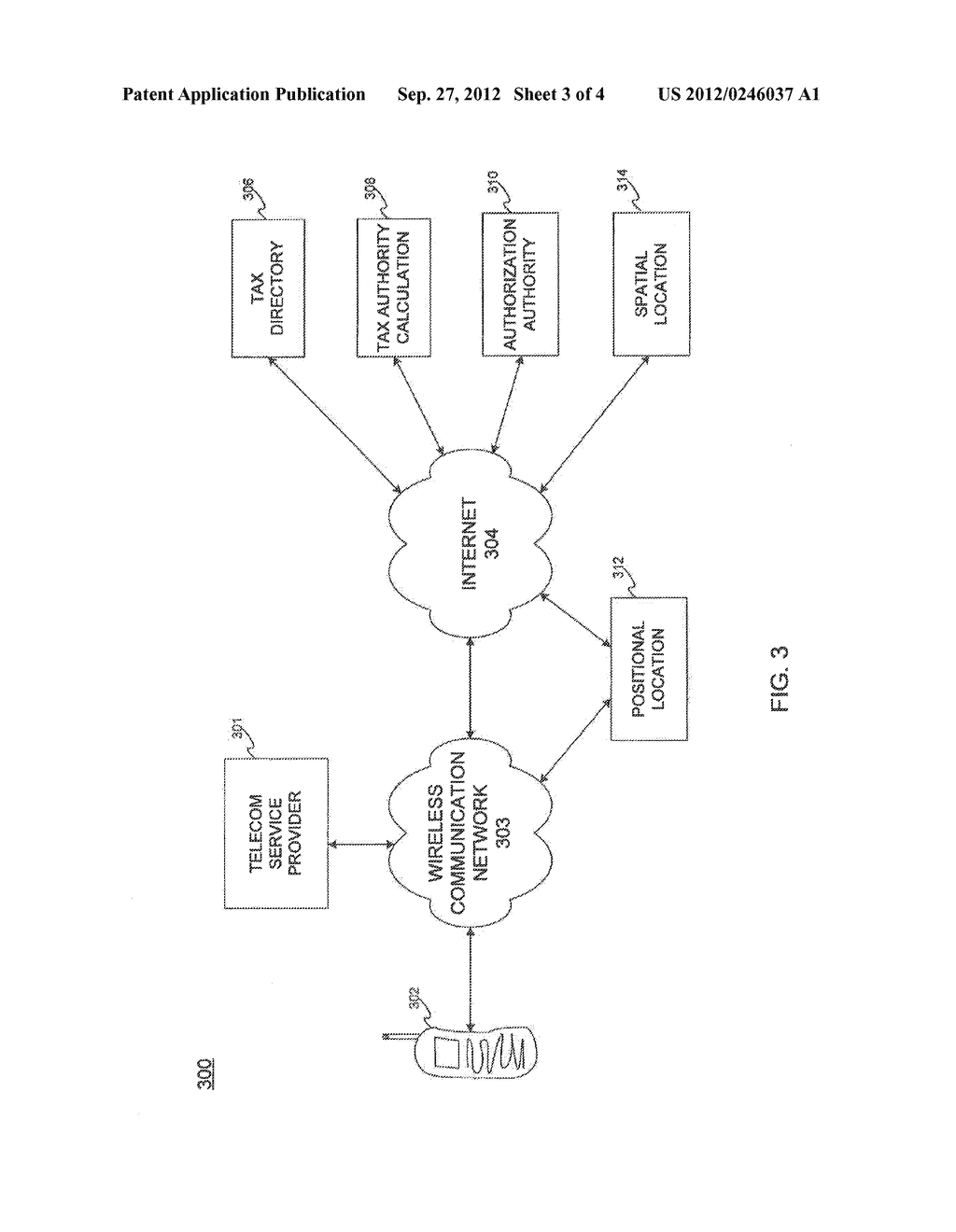 TRANSACTION TAX SETTLEMENT IN PERSONAL COMMUNICATION DEVICES - diagram, schematic, and image 04