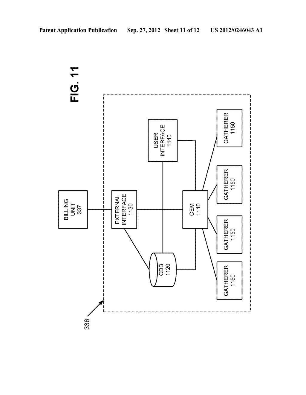 SYSTEMS AND METHODS FOR RETRIEVING AND MODIFYING DATA RECORDS FOR RATING     AND BILLING PURPOSES - diagram, schematic, and image 12