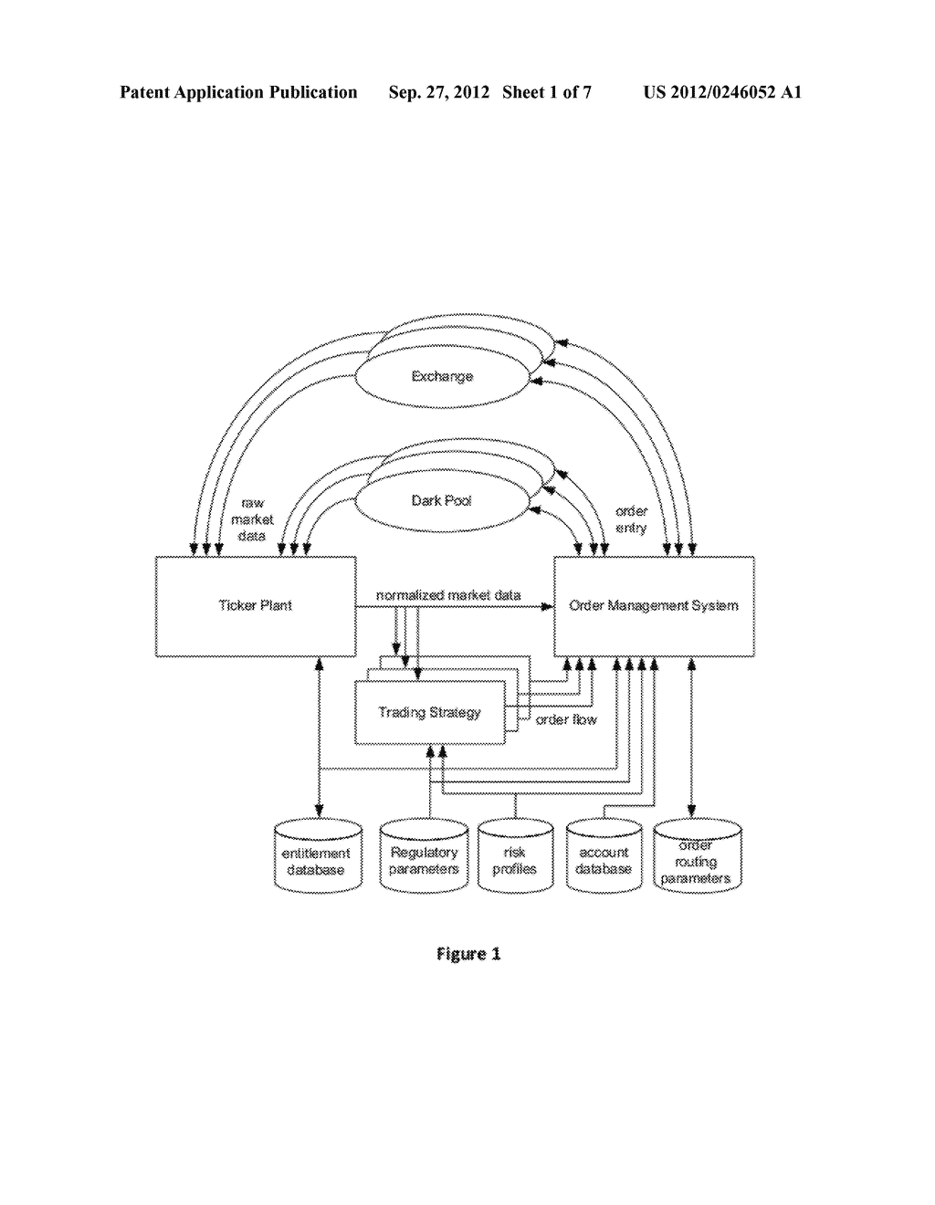 Method and Apparatus for Managing Orders in Financial Markets - diagram, schematic, and image 02