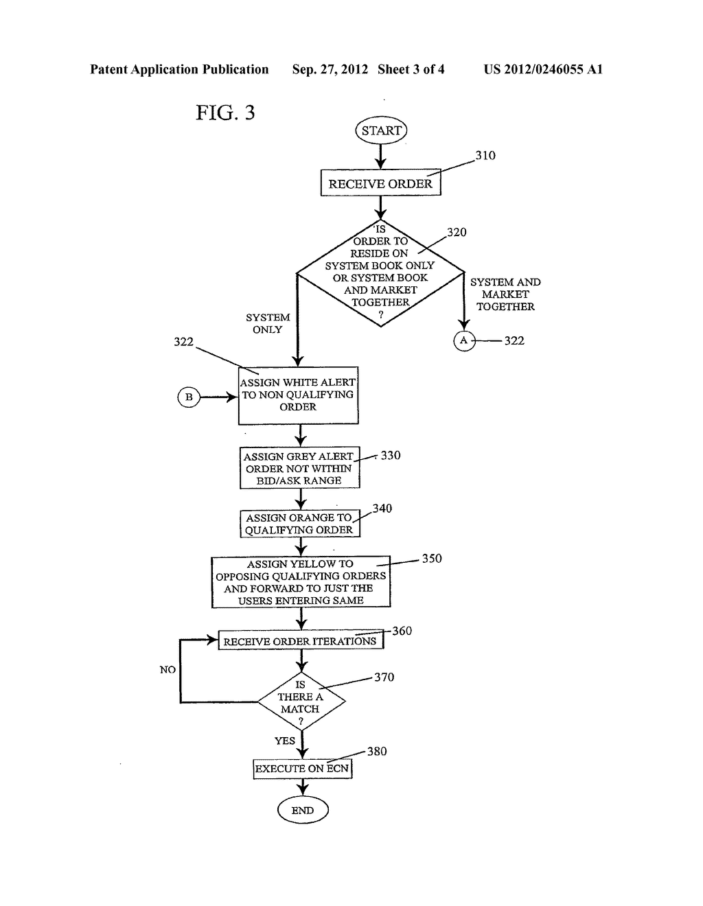 METHOD FOR CUSTOMIZED MARKET DATA DISSEMINATION IN SUPPORT OF HIDDEN-BOOK     ORDER PLACEMENT AND EXECUTION - diagram, schematic, and image 04