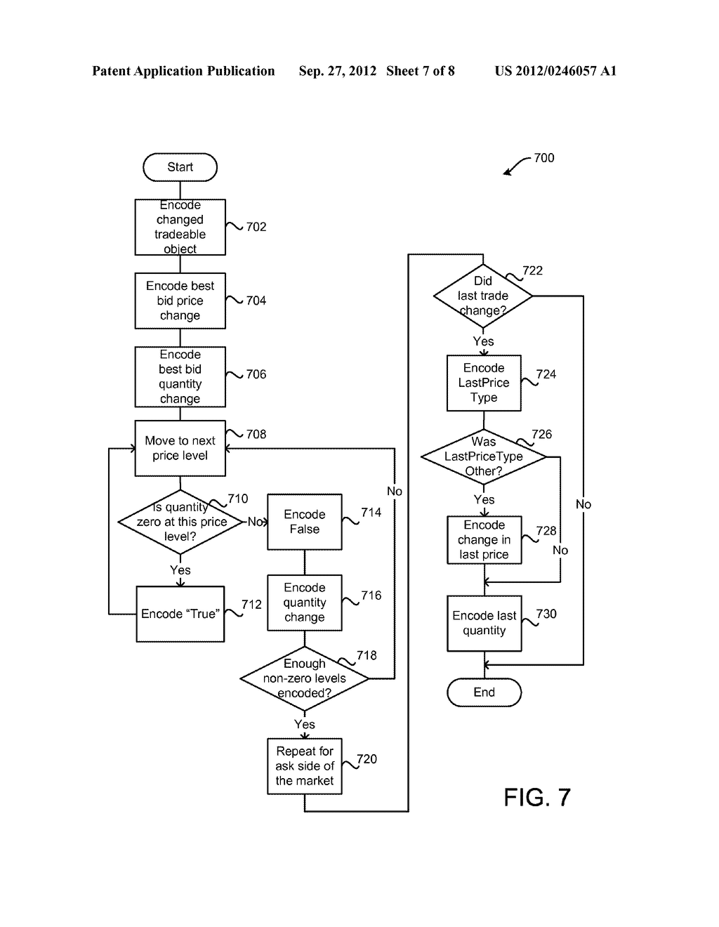 SYSTEM AND METHOD FOR PROVIDING MARKET DATA IN AN ELECTRONIC TRADING     ENVIRONMENT - diagram, schematic, and image 08