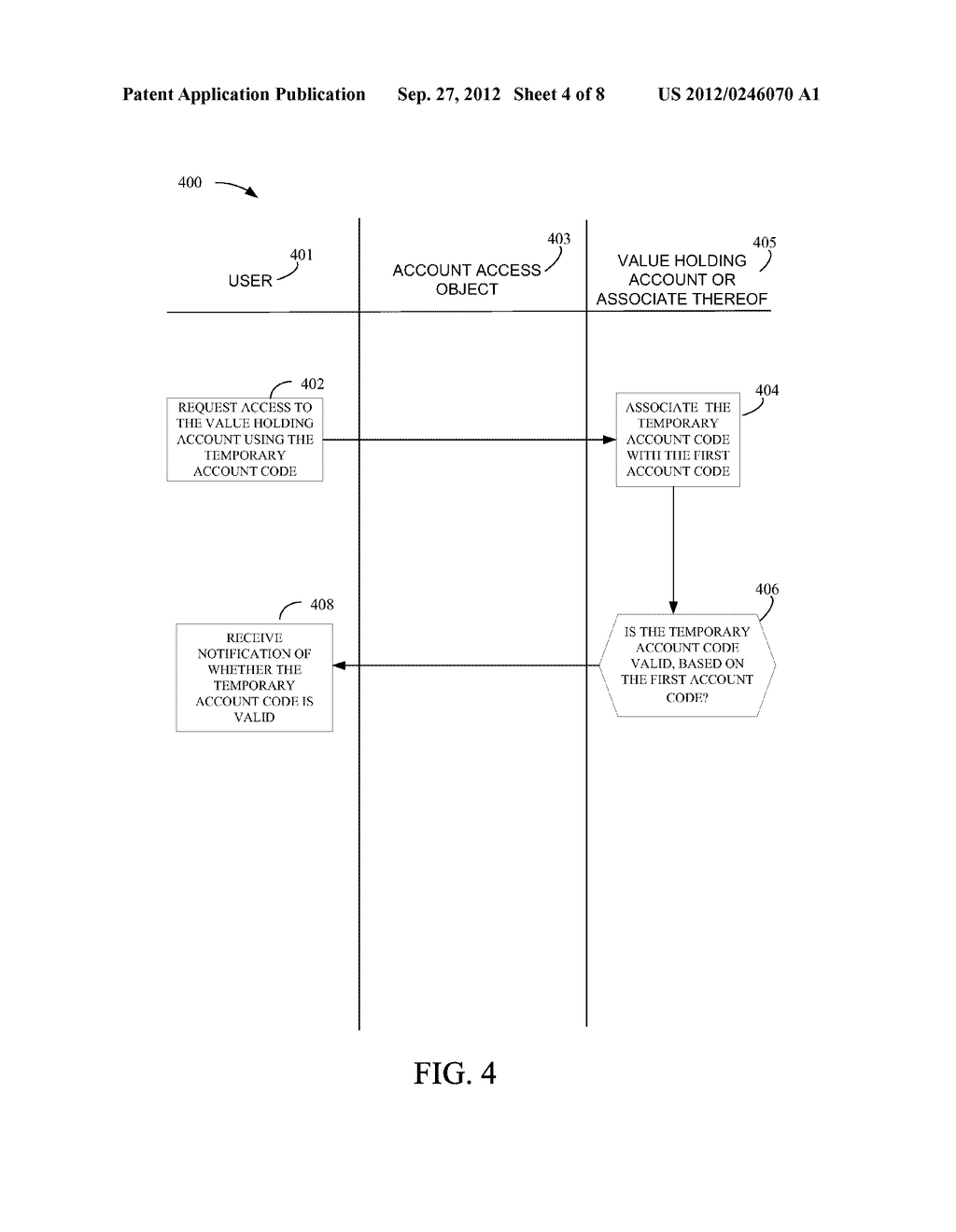 SYSTEM AND METHOD TO ALLOW ACCESS TO A VALUE HOLDING ACCOUNT - diagram, schematic, and image 05