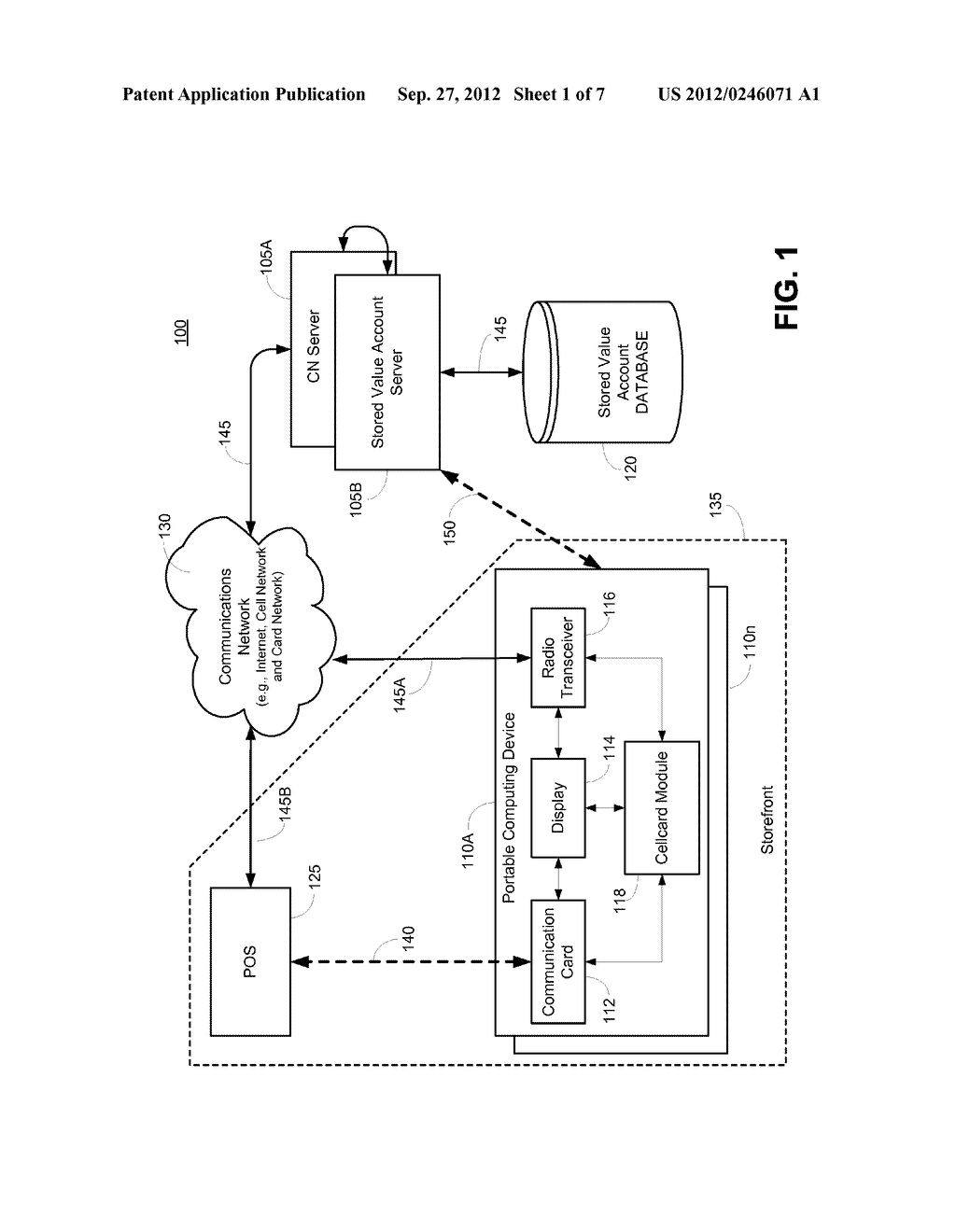 SYSTEM AND METHOD FOR PRESENTMENT OF NONCONFIDENTIAL TRANSACTION TOKEN     IDENTIFIER - diagram, schematic, and image 02