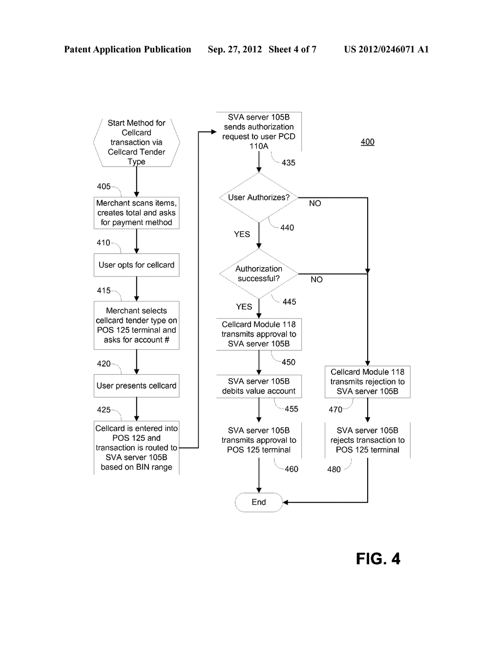 SYSTEM AND METHOD FOR PRESENTMENT OF NONCONFIDENTIAL TRANSACTION TOKEN     IDENTIFIER - diagram, schematic, and image 05
