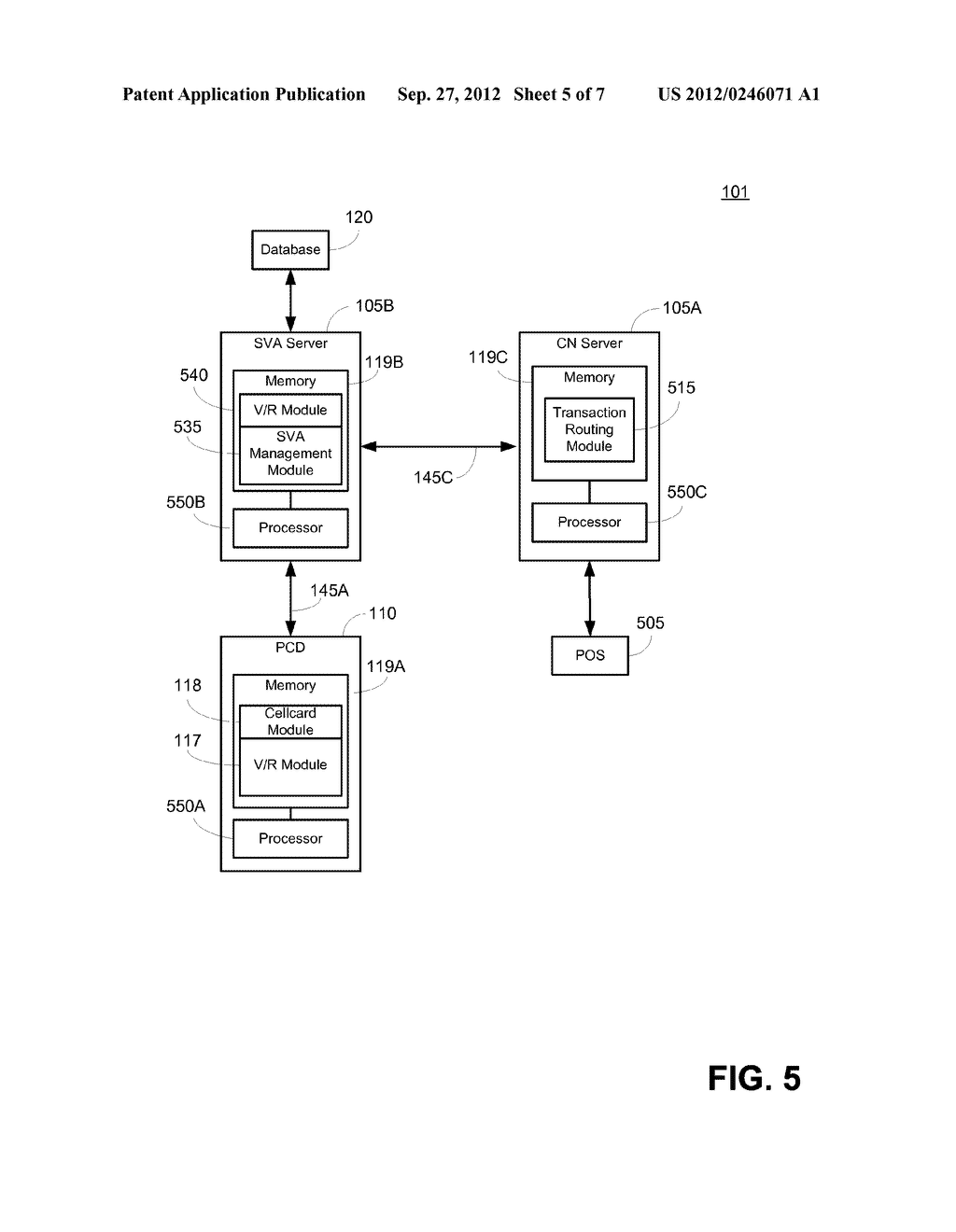 SYSTEM AND METHOD FOR PRESENTMENT OF NONCONFIDENTIAL TRANSACTION TOKEN     IDENTIFIER - diagram, schematic, and image 06