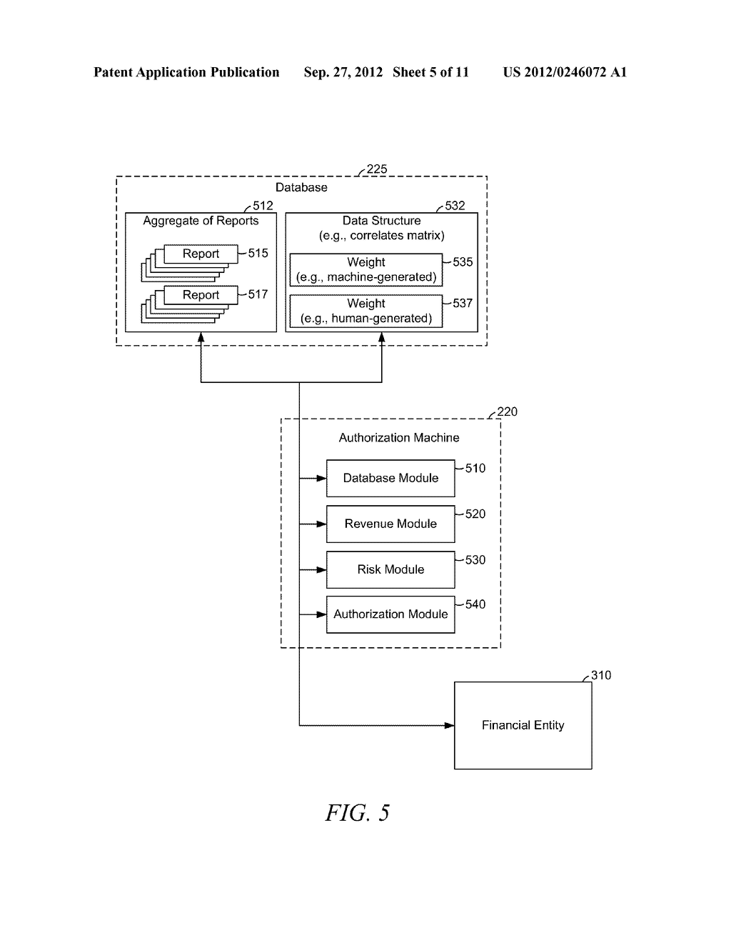 AUTHORIZING AN ADVANCE PAYMENT BASED ON PERFORMER DATA - diagram, schematic, and image 06