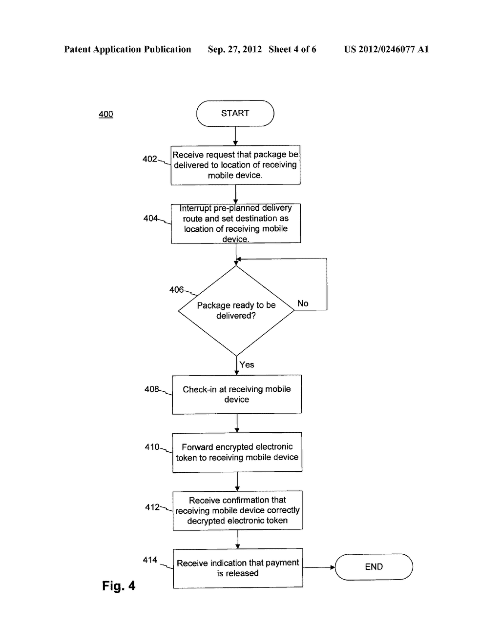 SYSTEMS AND METHODS FOR ELECTRONICALLY SIGNING FOR A DELIVERED PACKAGE - diagram, schematic, and image 05