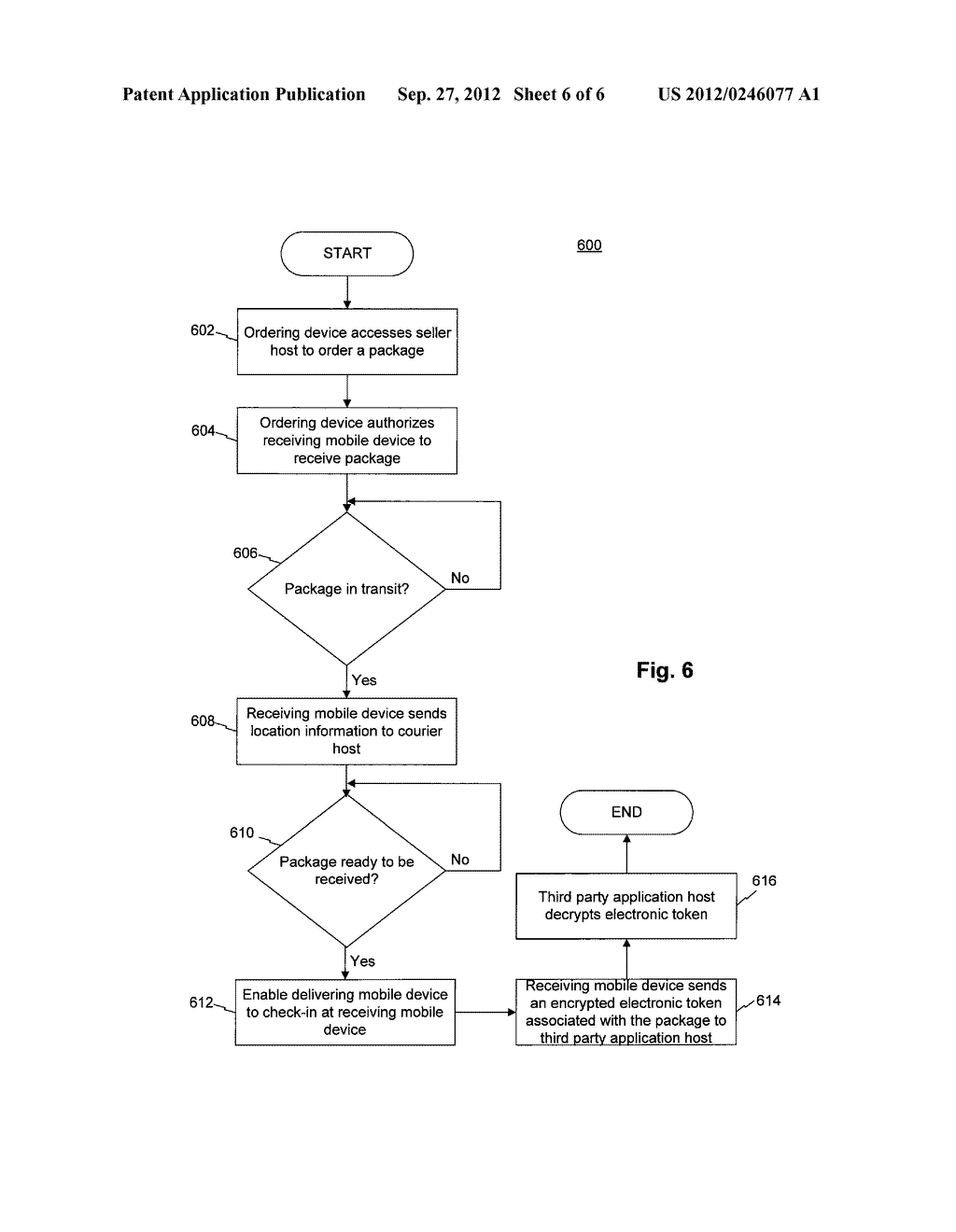 SYSTEMS AND METHODS FOR ELECTRONICALLY SIGNING FOR A DELIVERED PACKAGE - diagram, schematic, and image 07