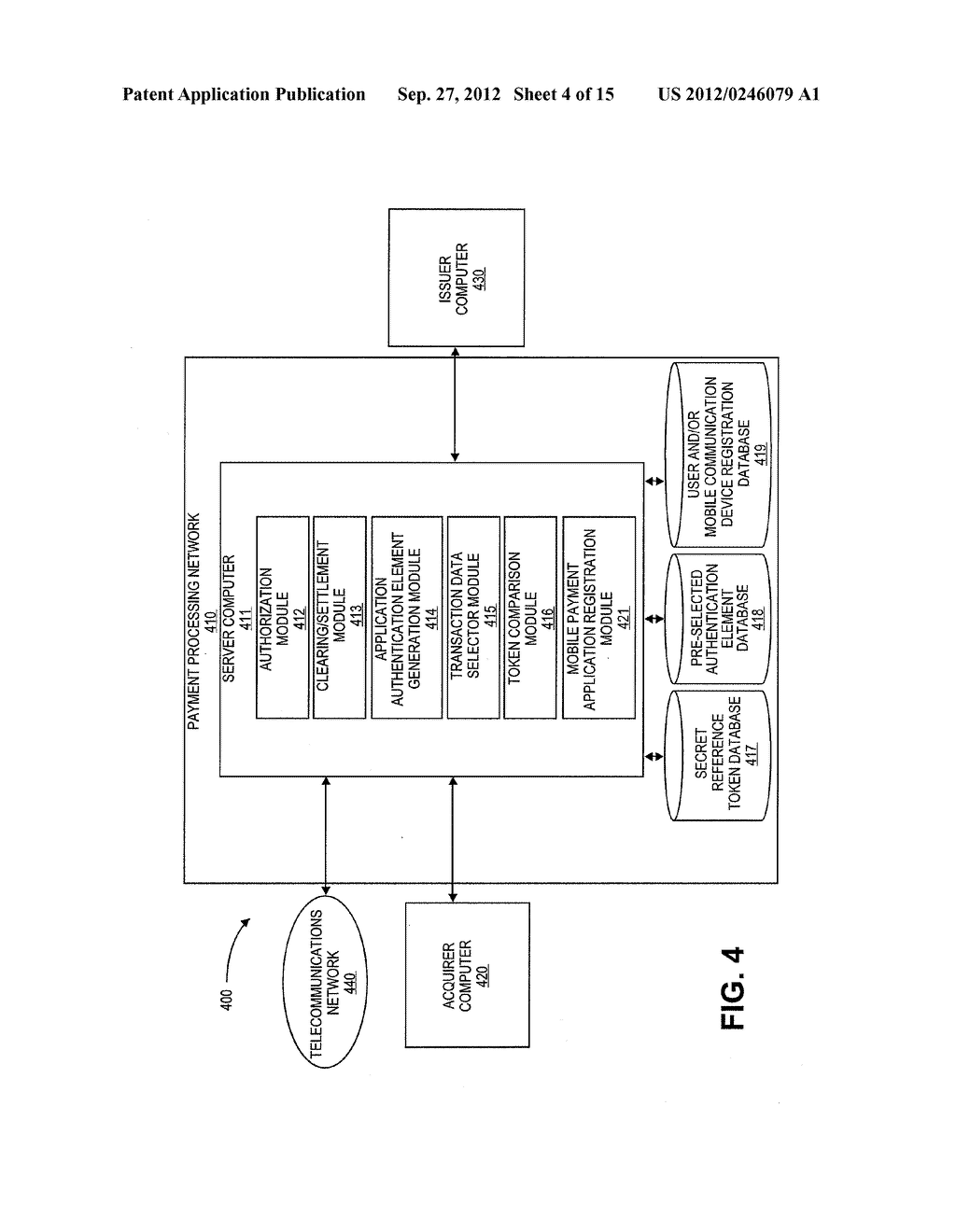 AUTHENTICATION USING APPLICATION AUTHENTICATION ELEMENT - diagram, schematic, and image 05
