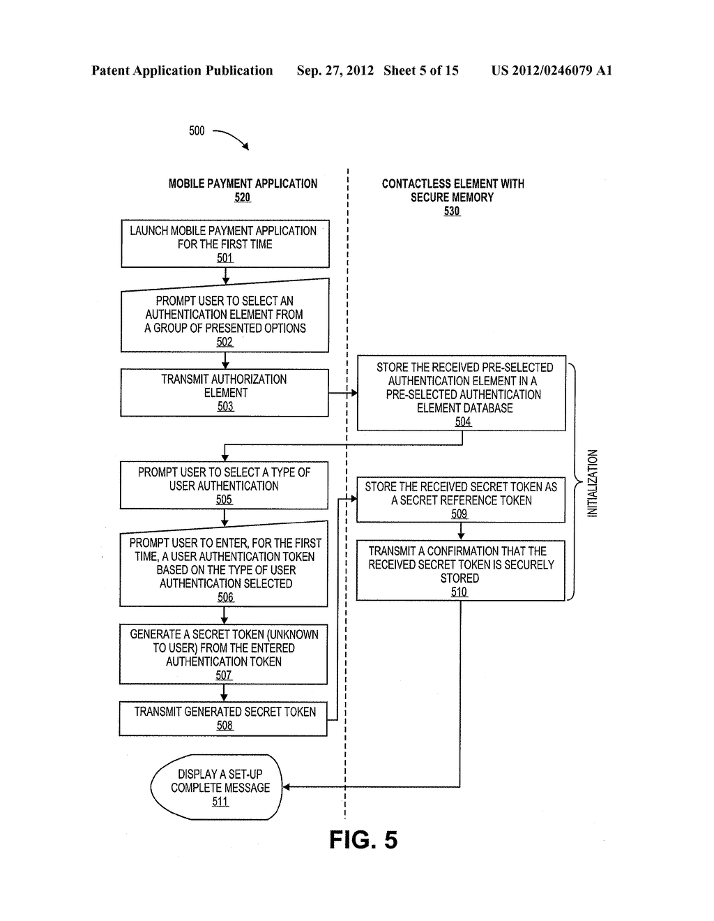 AUTHENTICATION USING APPLICATION AUTHENTICATION ELEMENT - diagram, schematic, and image 06