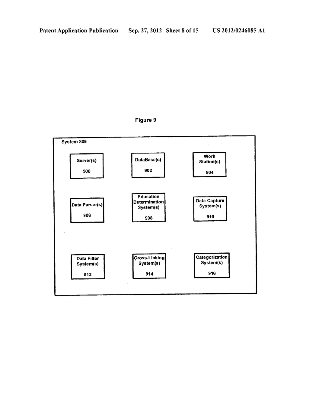 SYSTEMS AND METHODS FOR ENTITY SPECIFIC, DATA CAPTURE AND EXCHANGE OVER A     NETWORK - diagram, schematic, and image 09