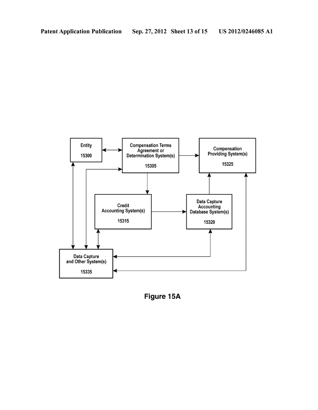SYSTEMS AND METHODS FOR ENTITY SPECIFIC, DATA CAPTURE AND EXCHANGE OVER A     NETWORK - diagram, schematic, and image 14