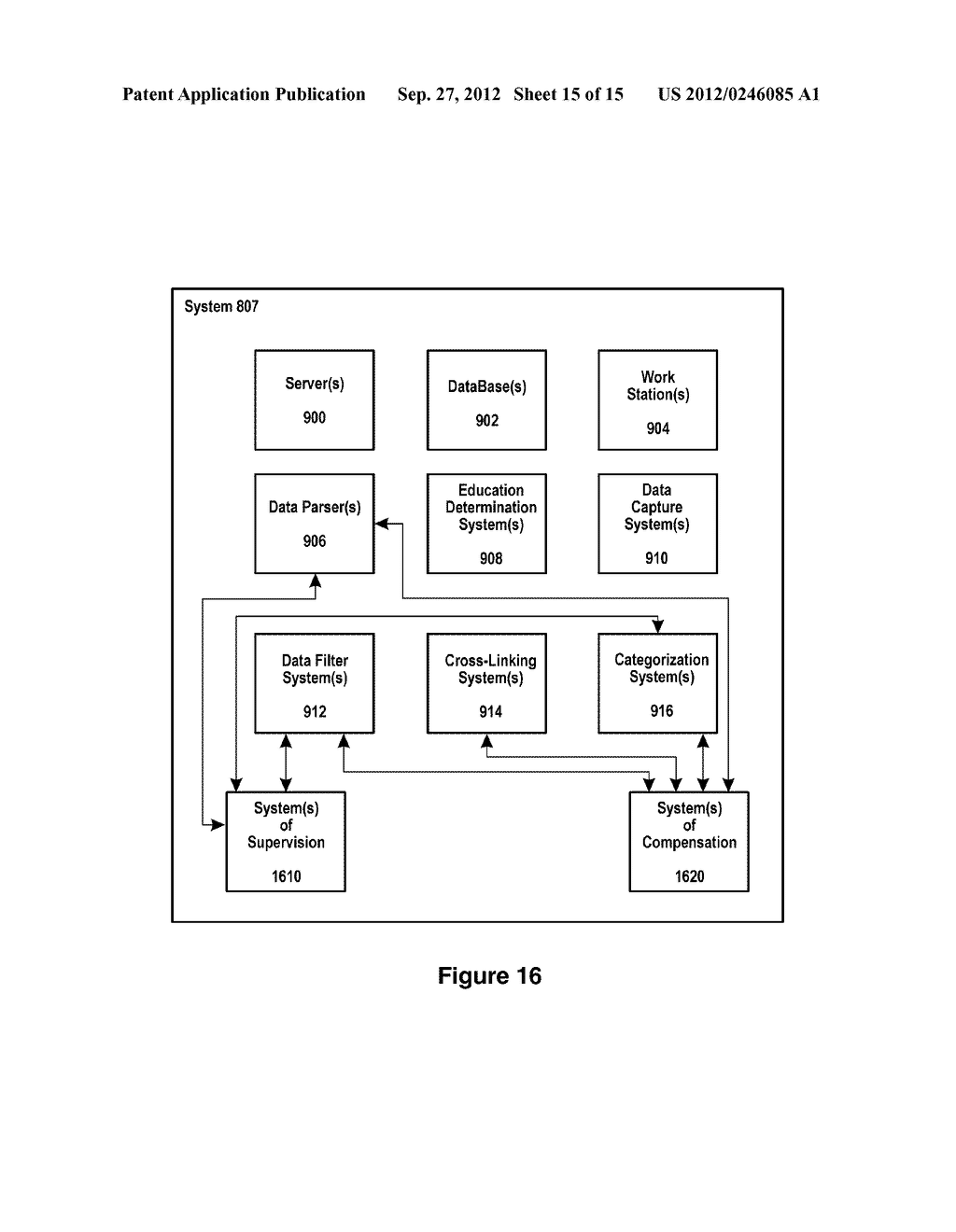 SYSTEMS AND METHODS FOR ENTITY SPECIFIC, DATA CAPTURE AND EXCHANGE OVER A     NETWORK - diagram, schematic, and image 16