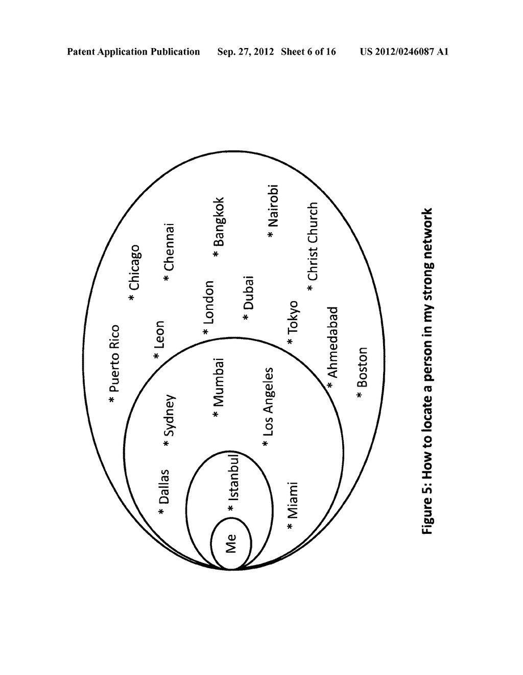 Method and apparatus for establishing an exclusive network of Strong Tie     connections which is then used to make referenceable connections between     members for various personal and business benefits - diagram, schematic, and image 07