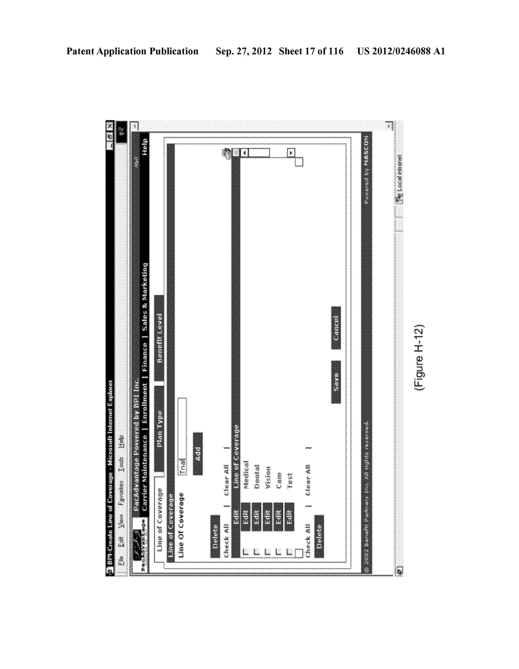 BENEFITS ADMINISTRATION SYSTEM AND METHODS OF USE AND DOING BUSINESS - diagram, schematic, and image 18