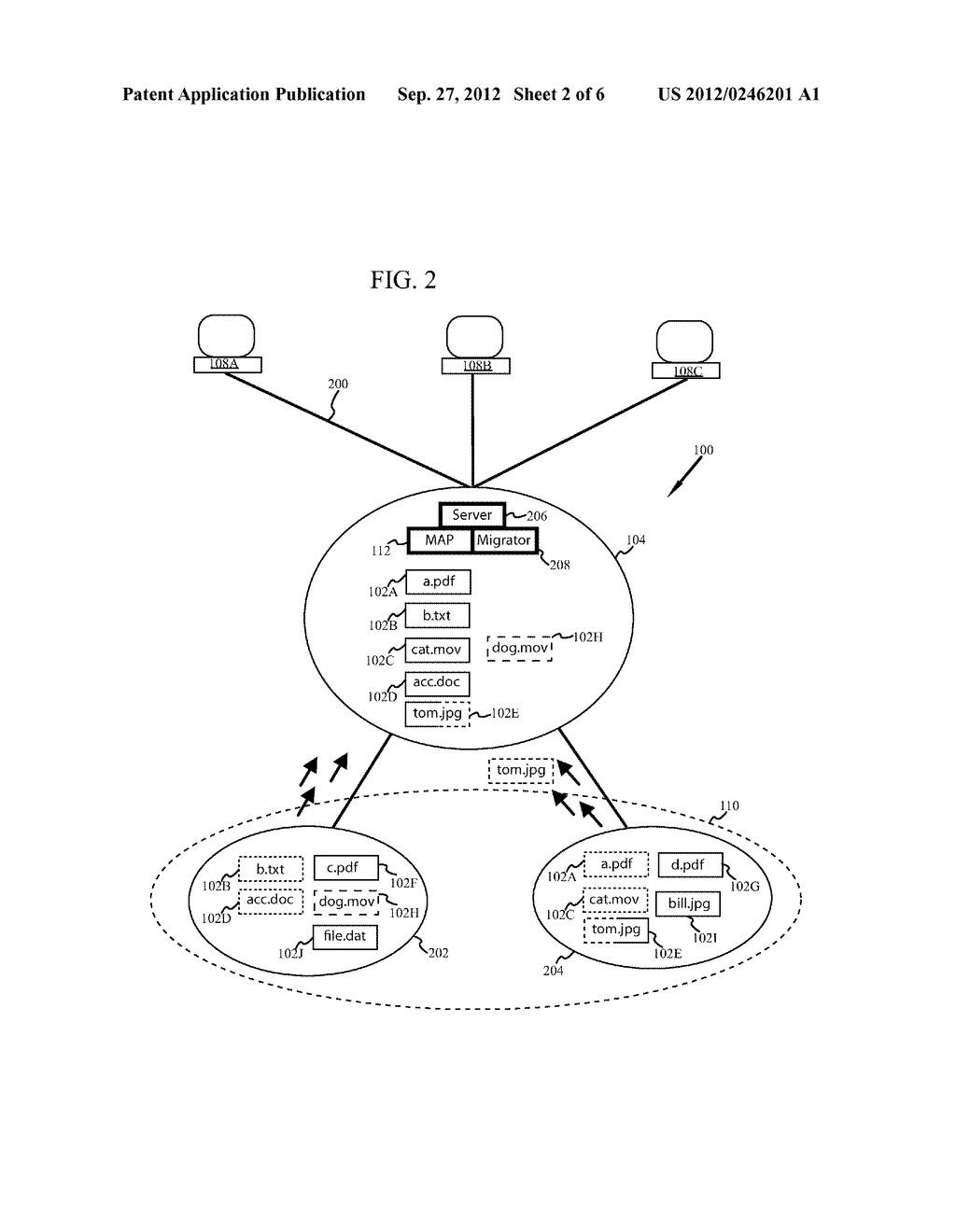 SYSTEM AND METHOD FOR A STORAGE SYSTEM RESPONSE WITH DATA MIGRATION - diagram, schematic, and image 03