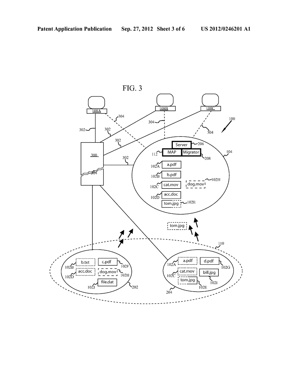 SYSTEM AND METHOD FOR A STORAGE SYSTEM RESPONSE WITH DATA MIGRATION - diagram, schematic, and image 04