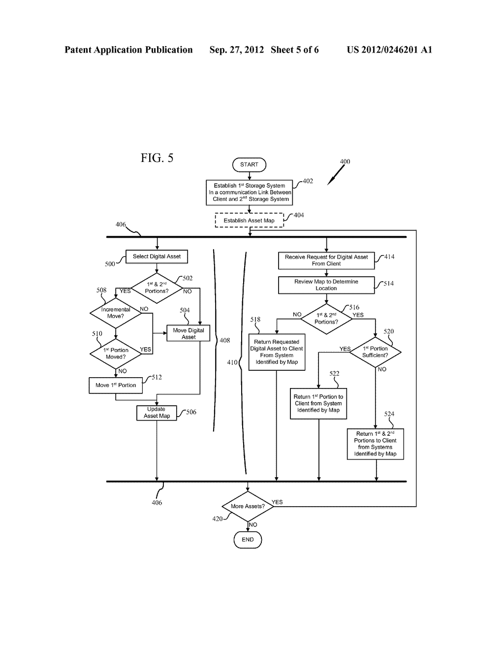 SYSTEM AND METHOD FOR A STORAGE SYSTEM RESPONSE WITH DATA MIGRATION - diagram, schematic, and image 06