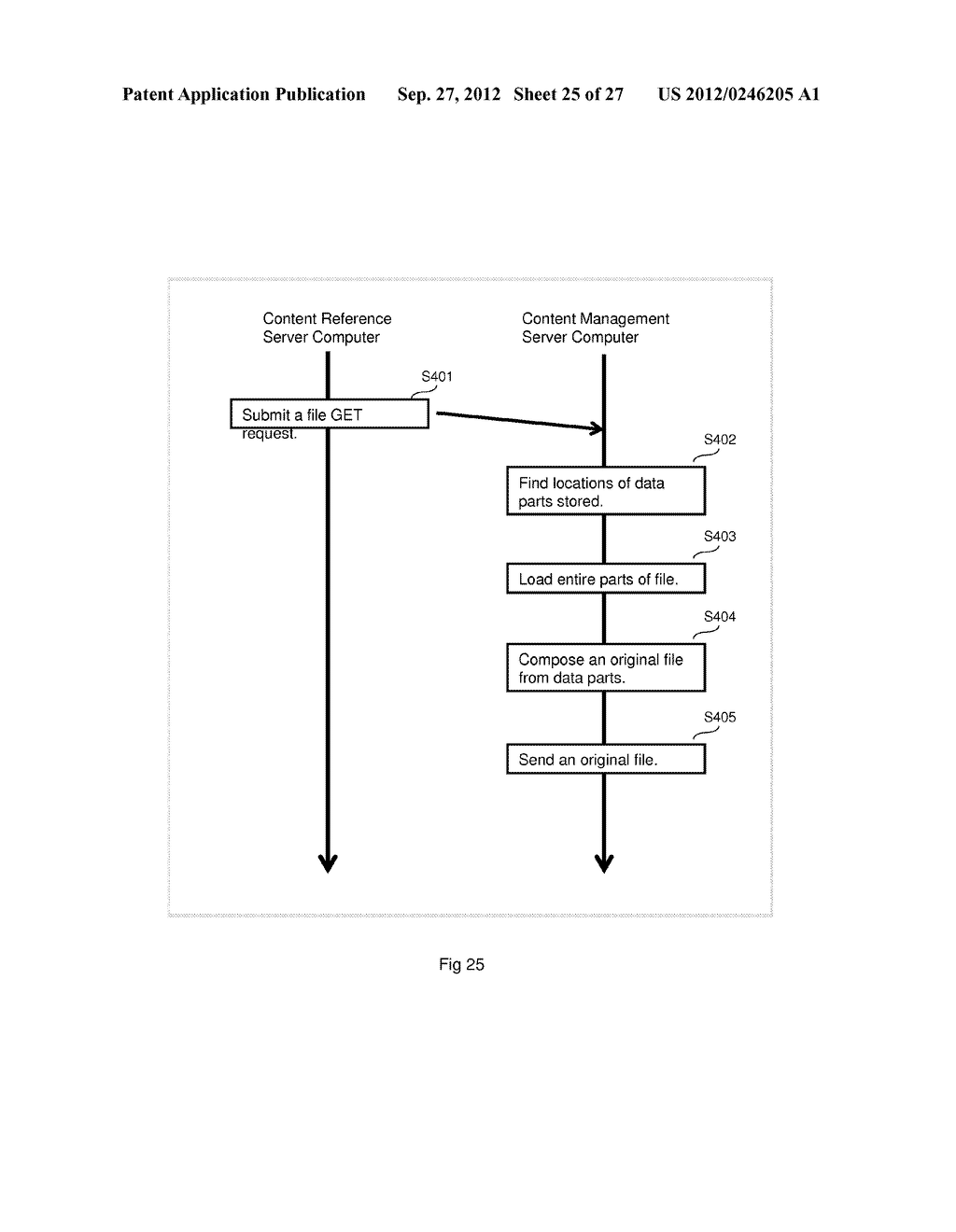 EFFICIENT DATA STORAGE METHOD FOR MULTIPLE FILE CONTENTS - diagram, schematic, and image 26