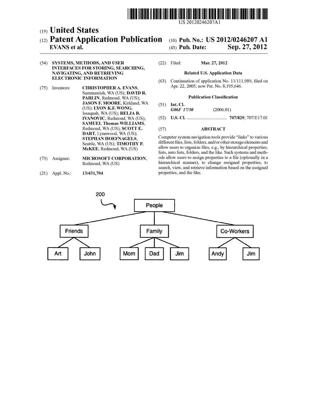 SYSTEMS, METHODS, AND USER INTERFACES FOR STORING, SEARCHING, NAVIGATING,     AND RETRIEVING ELECTRONIC INFORMATION - diagram, schematic, and image 01