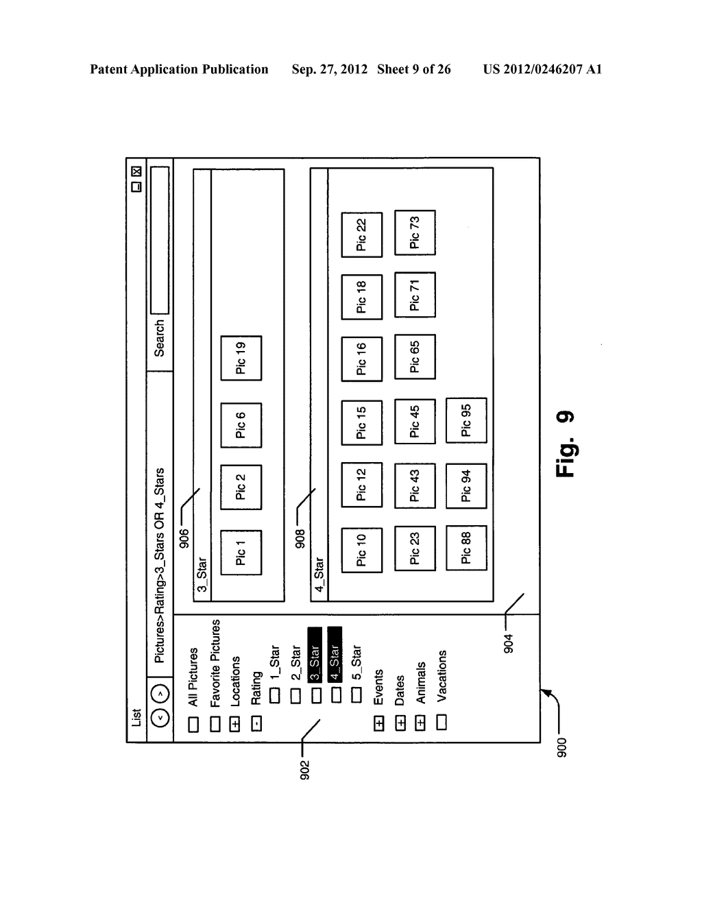 SYSTEMS, METHODS, AND USER INTERFACES FOR STORING, SEARCHING, NAVIGATING,     AND RETRIEVING ELECTRONIC INFORMATION - diagram, schematic, and image 10