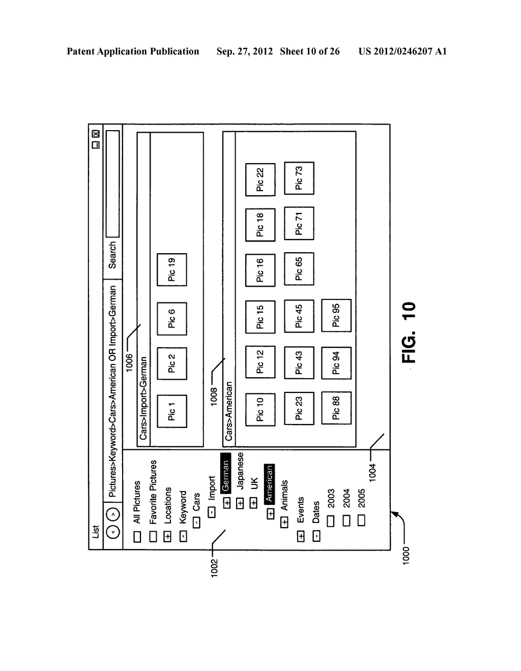 SYSTEMS, METHODS, AND USER INTERFACES FOR STORING, SEARCHING, NAVIGATING,     AND RETRIEVING ELECTRONIC INFORMATION - diagram, schematic, and image 11