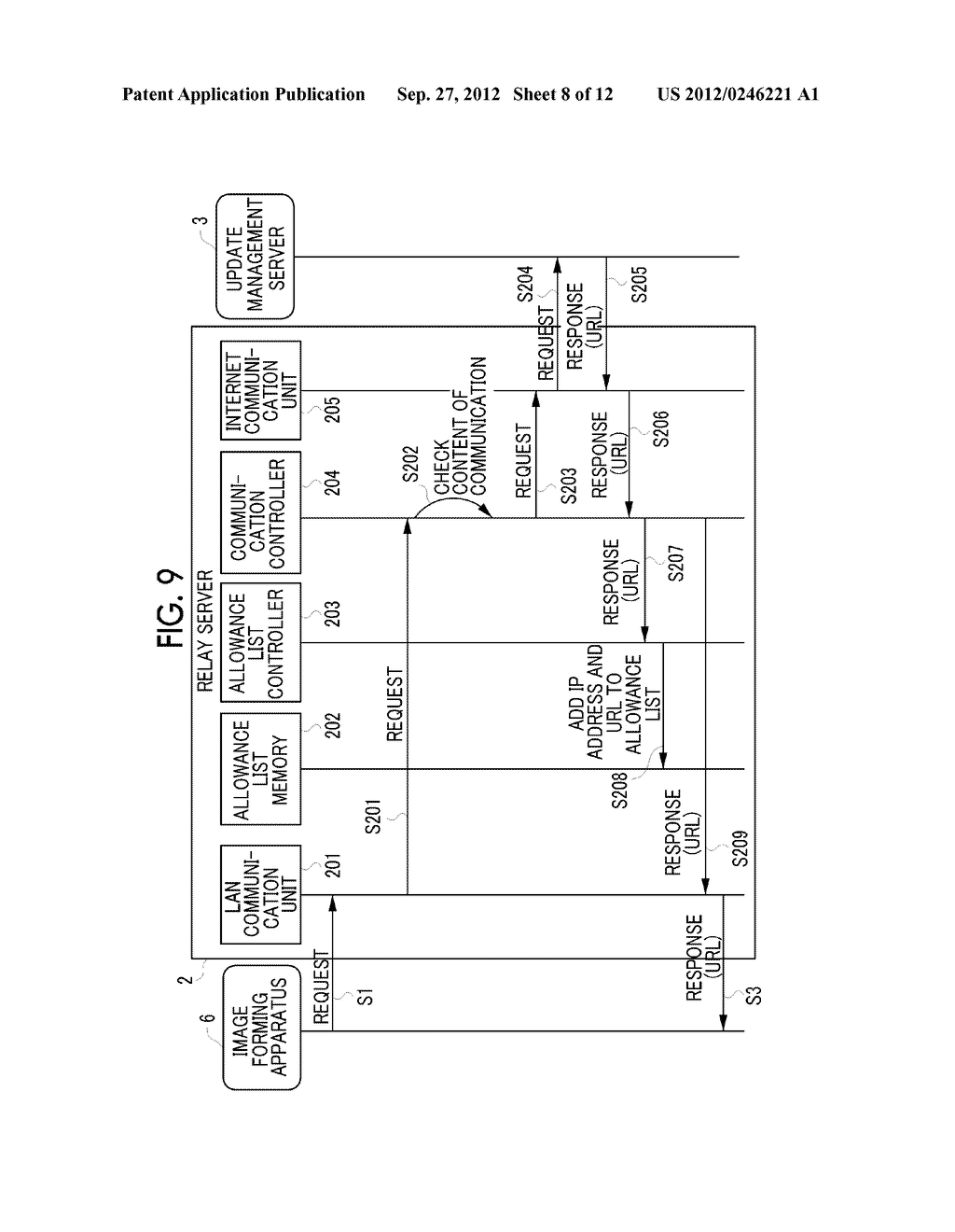 INFORMATION PROCESSING APPARATUS, INFORMATION PROCESSING METHOD,     NON-TRANSITORY COMPUTER READABLE MEDIUM STORING PROGRAM, AND INFORMATION     PROCESSING SYSTEM - diagram, schematic, and image 09