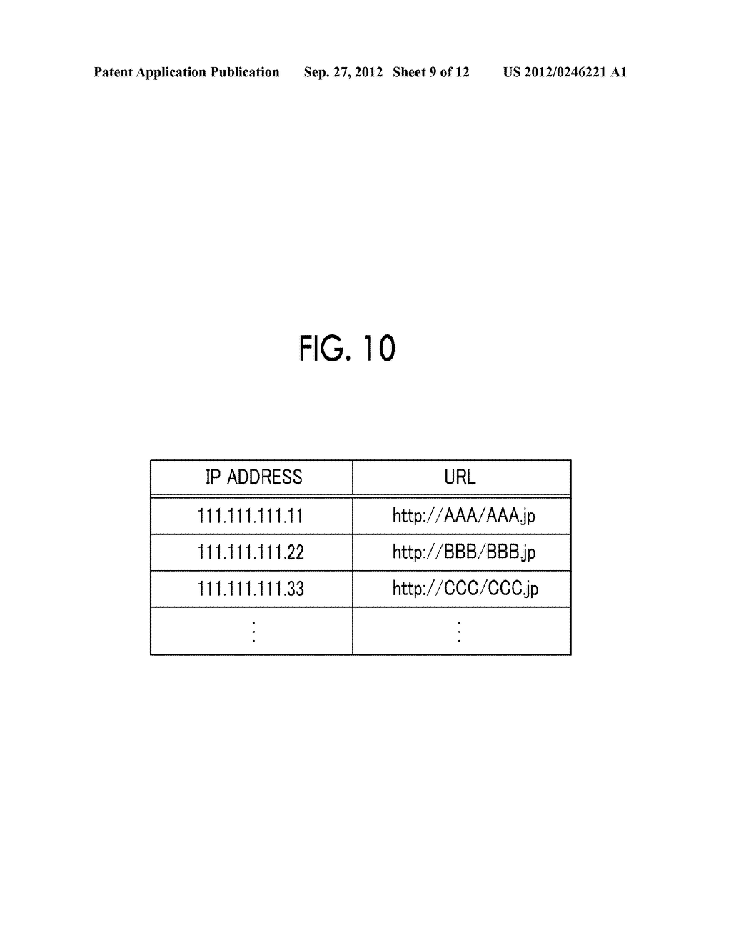 INFORMATION PROCESSING APPARATUS, INFORMATION PROCESSING METHOD,     NON-TRANSITORY COMPUTER READABLE MEDIUM STORING PROGRAM, AND INFORMATION     PROCESSING SYSTEM - diagram, schematic, and image 10