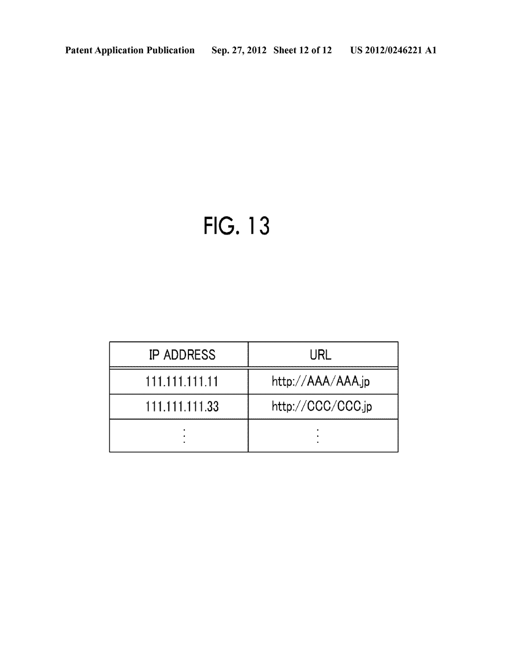 INFORMATION PROCESSING APPARATUS, INFORMATION PROCESSING METHOD,     NON-TRANSITORY COMPUTER READABLE MEDIUM STORING PROGRAM, AND INFORMATION     PROCESSING SYSTEM - diagram, schematic, and image 13