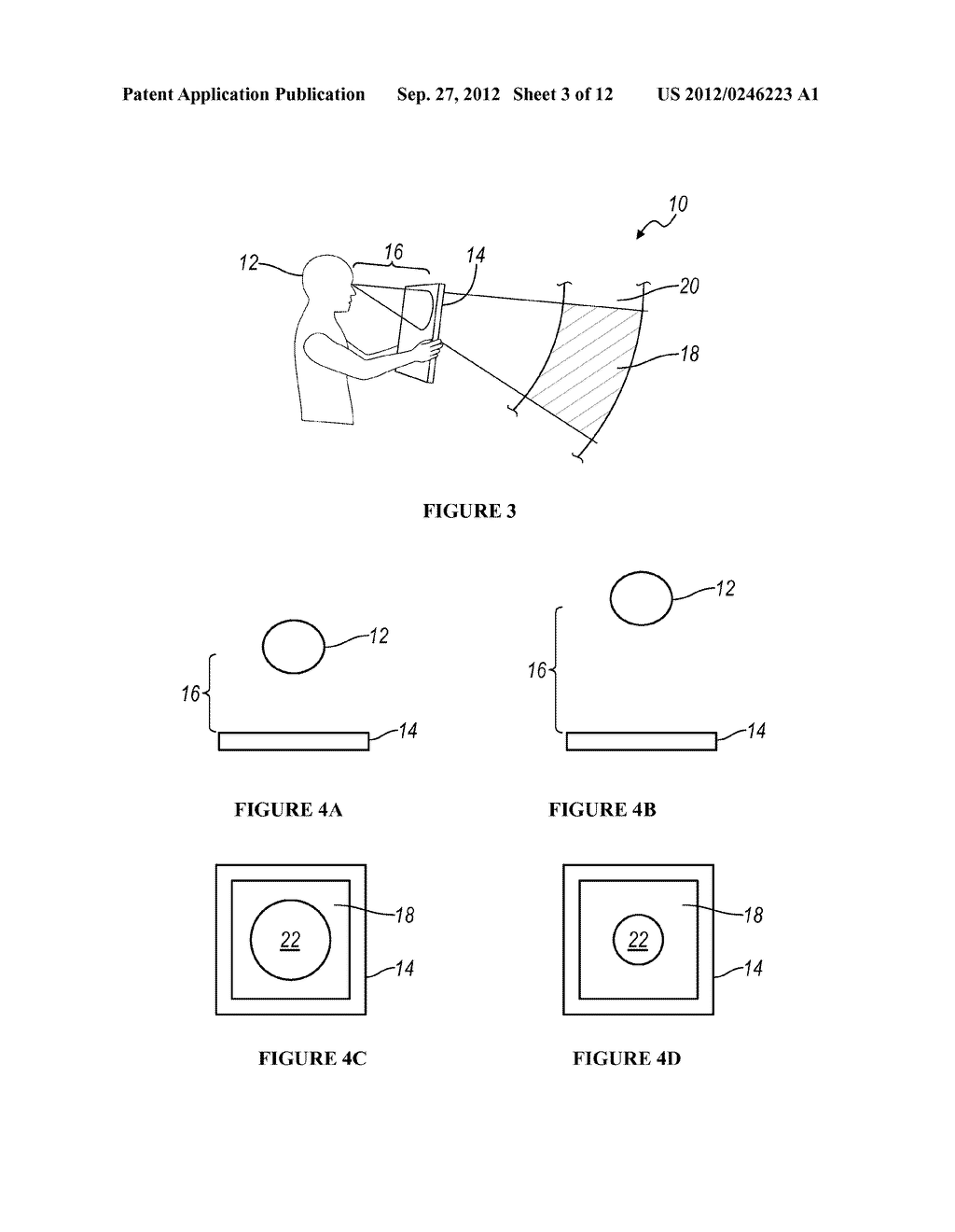 SYSTEM AND METHOD FOR DISTRIBUTING VIRTUAL AND AUGMENTED REALITY SCENES     THROUGH A SOCIAL NETWORK - diagram, schematic, and image 04