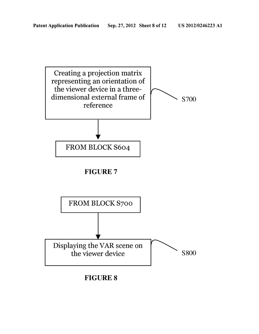 SYSTEM AND METHOD FOR DISTRIBUTING VIRTUAL AND AUGMENTED REALITY SCENES     THROUGH A SOCIAL NETWORK - diagram, schematic, and image 09