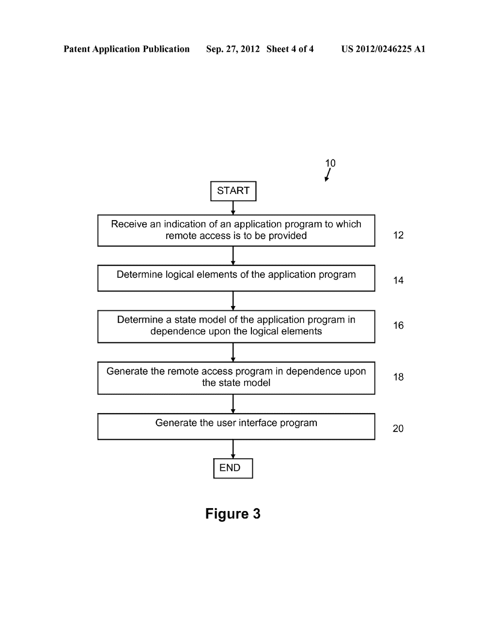 METHOD AND SYSTEM FOR PROVIDING A STATE MODEL OF AN APPLICATION PROGRAM - diagram, schematic, and image 05
