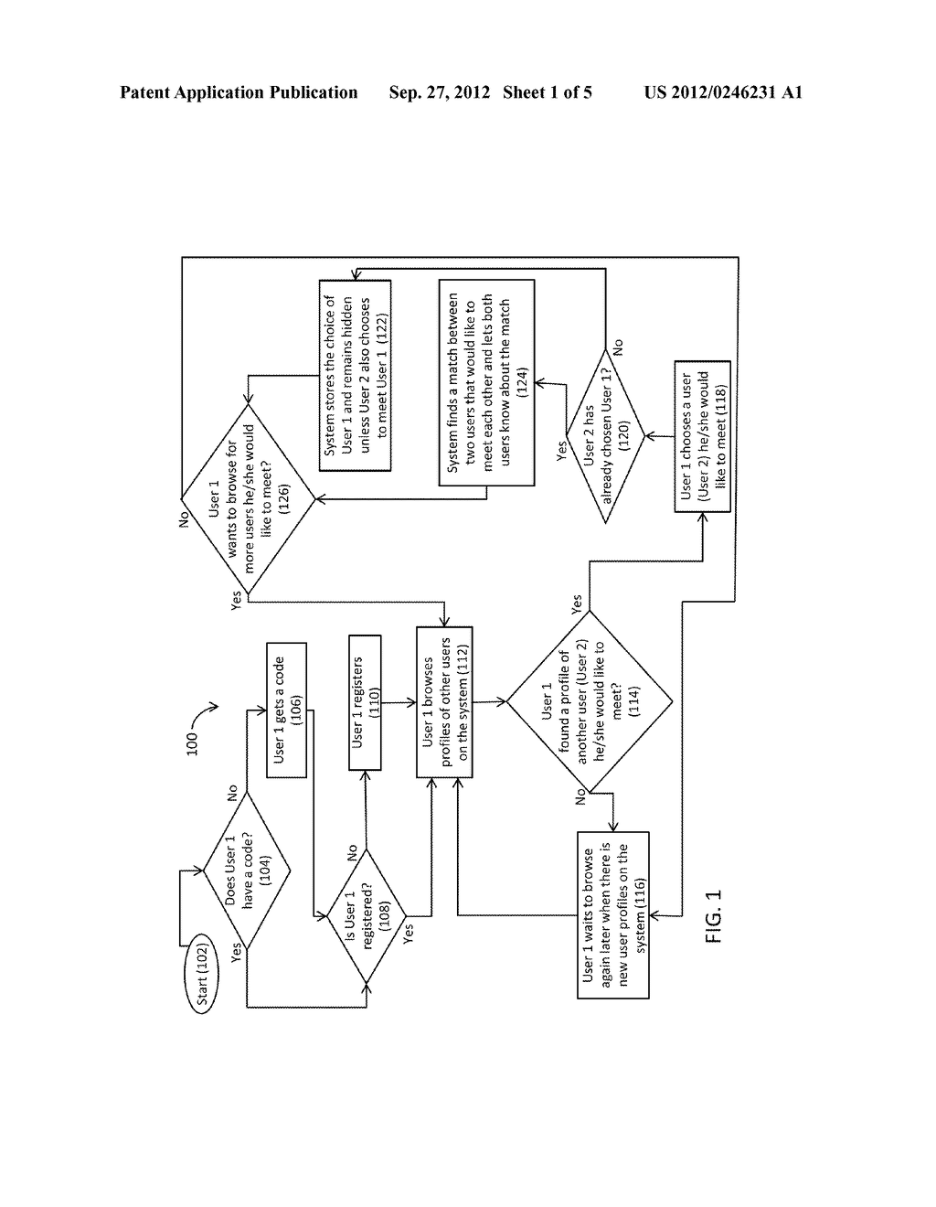 SYSTEM AND METHOD FOR MATCHING BY RECIPROCITY USING HIDDEN SELECTIONS - diagram, schematic, and image 02