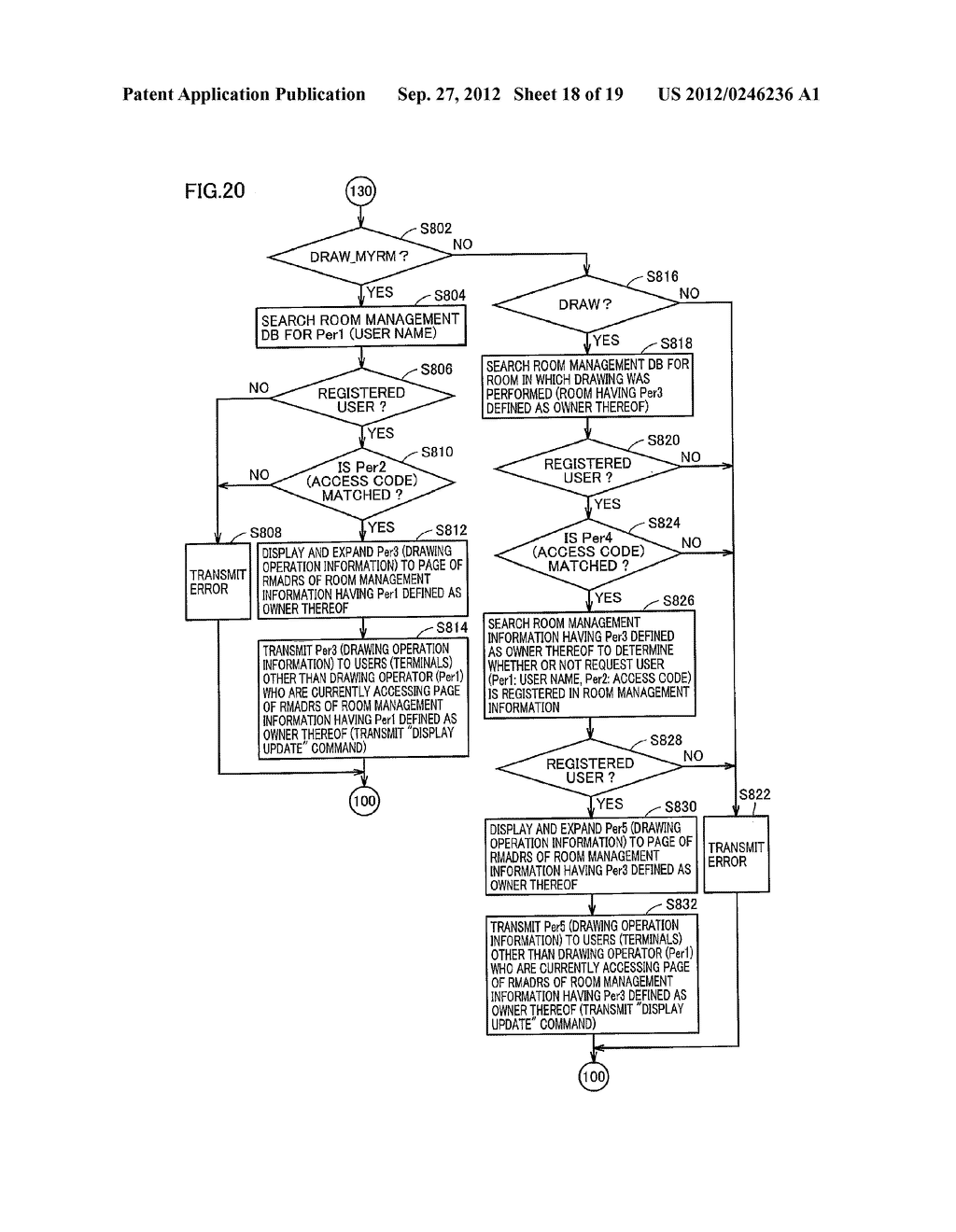 NETWORK SYSTEM, COMMUNICATION METHOD, COMMUNICATION TERMINAL, AND     COMMUNICATIONS SERVER - diagram, schematic, and image 19