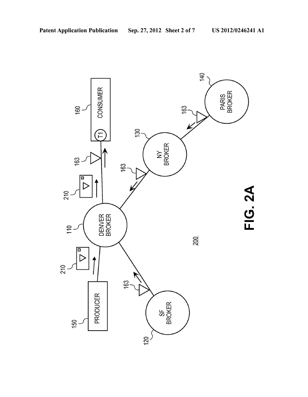SYSTEMS AND METHODS FOR PROVIDING DISTRIBUTED DYNAMIC ROUTING USING A     LOGICAL BROKER - diagram, schematic, and image 03